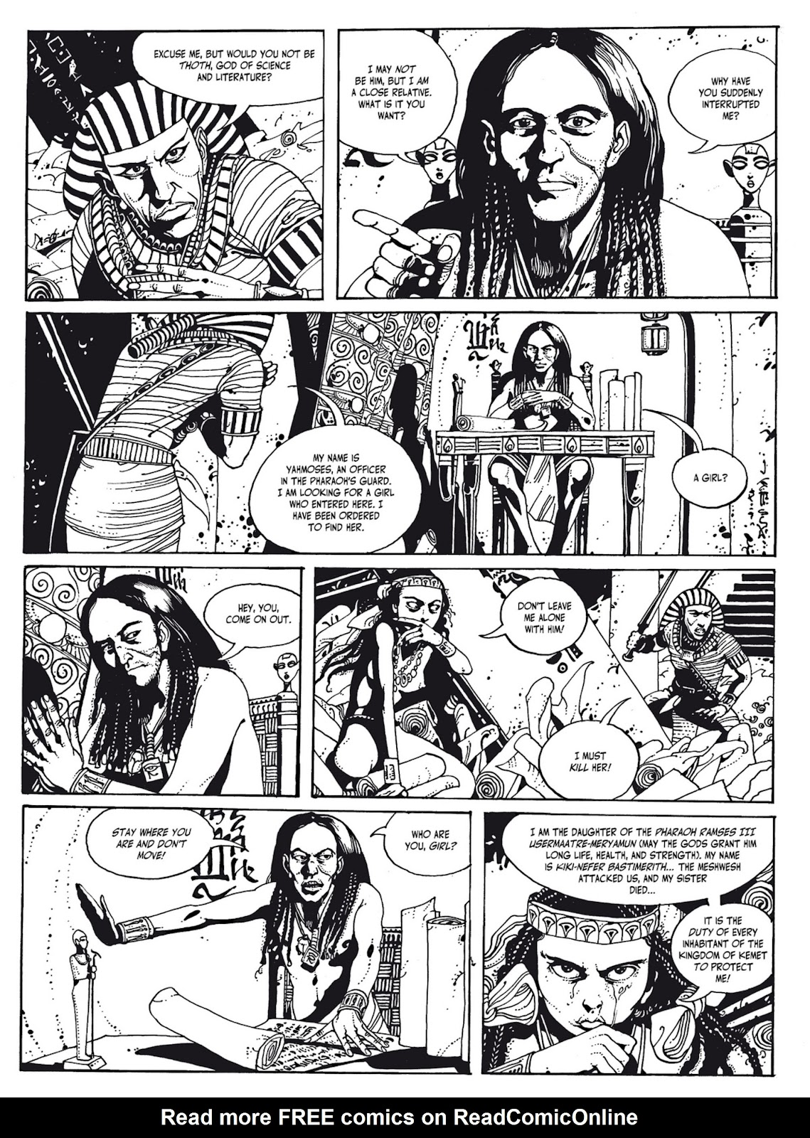 Read online The Egyptian Princesses comic -  Issue # TPB 1 (Part 1) - 46