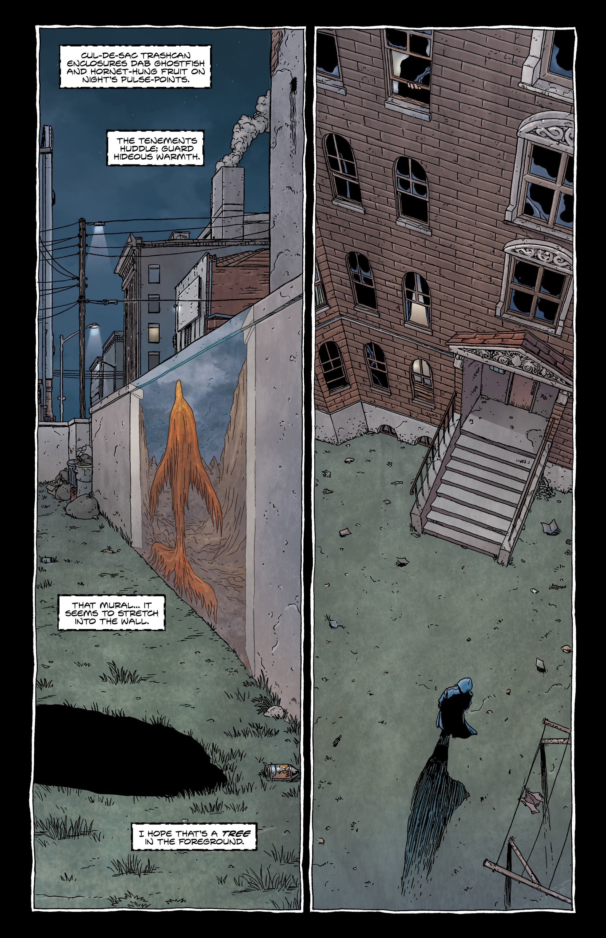 Read online Alan Moore's The Courtyard comic -  Issue # TPB - 33