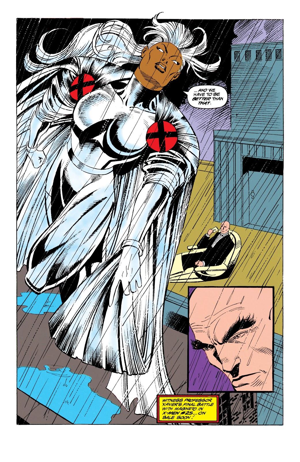 Uncanny X-Men (1963) issue 305 - Page 22
