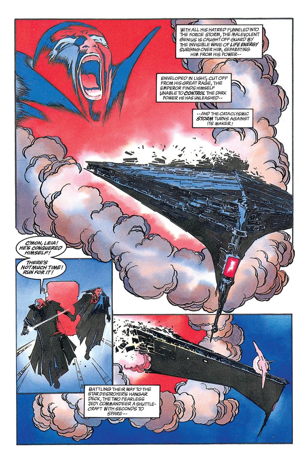 Read online Star Wars: Dark Empire Trilogy comic -  Issue # TPB (Part 2) - 54