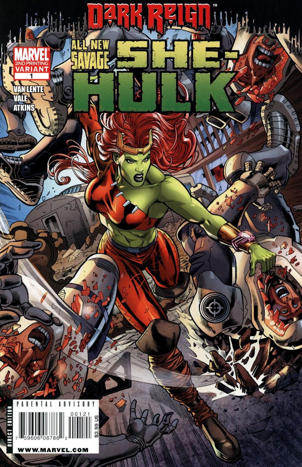 Savage She-Hulk Issue #1 #1 - English 3