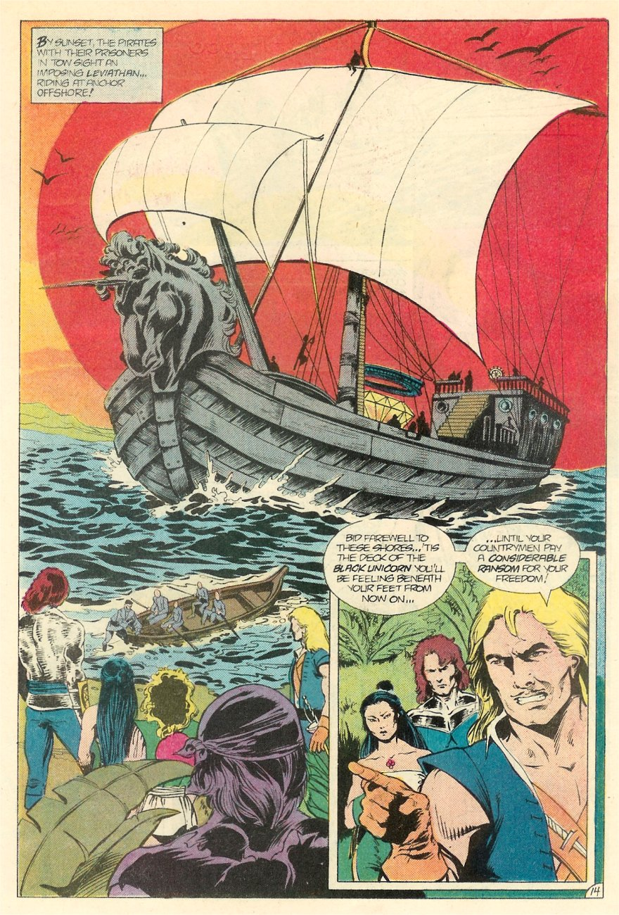 Read online Arion, Lord of Atlantis comic -  Issue #20 - 15