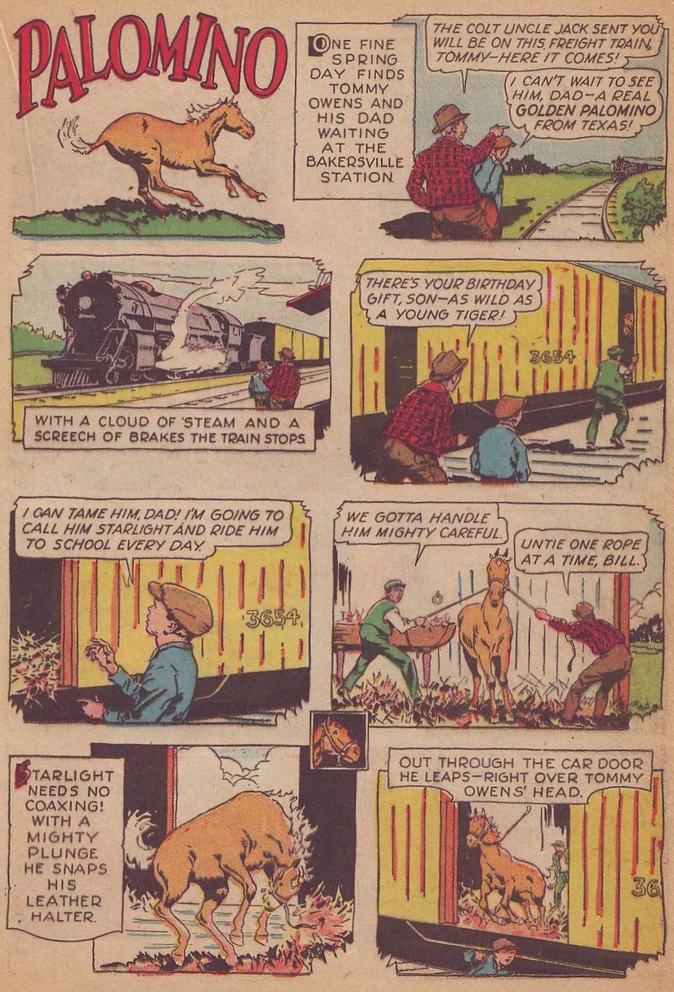 Read online Animal Comics comic -  Issue #8 - 23
