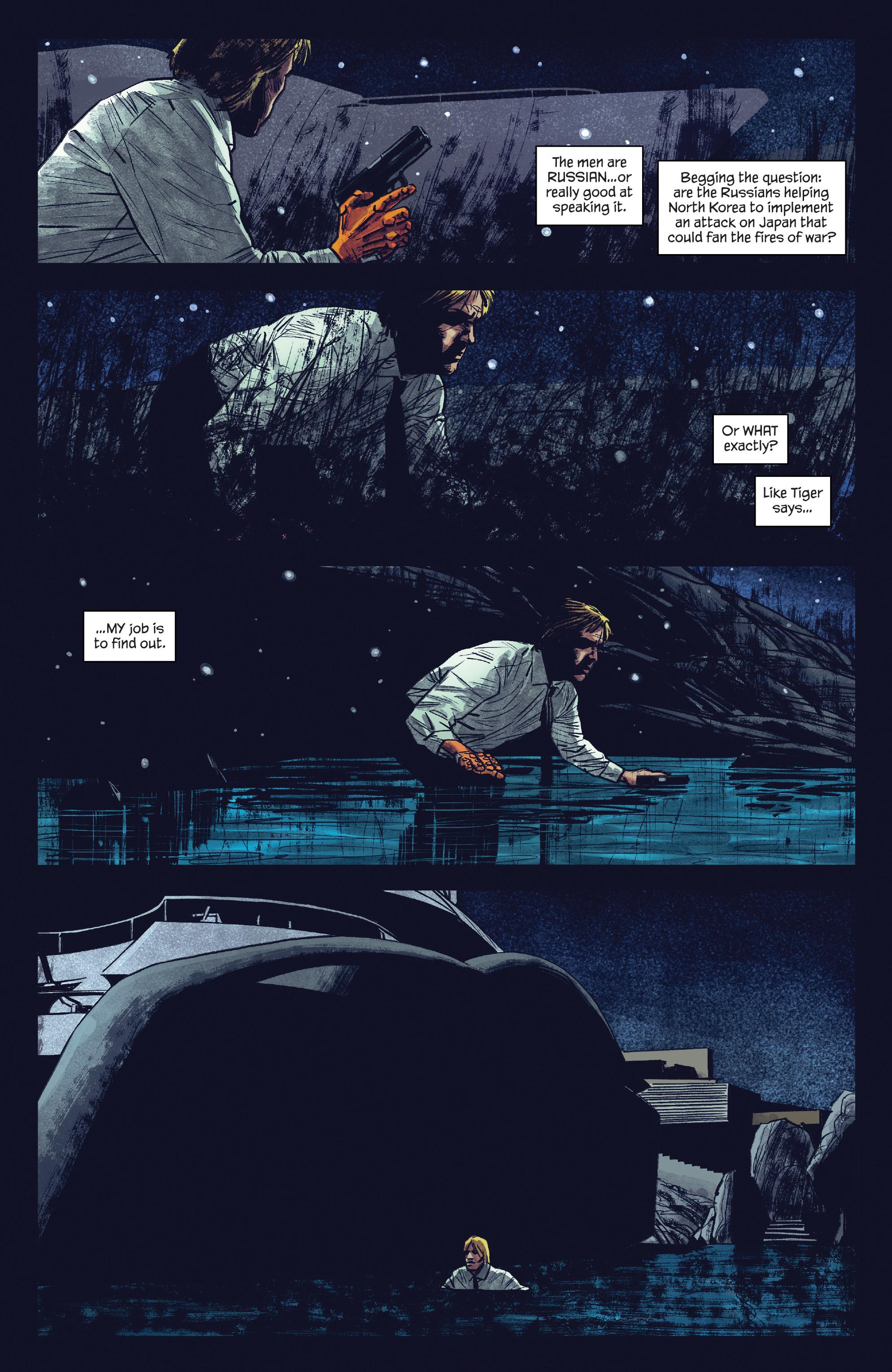 Read online James Bond: Felix Leiter comic -  Issue #5 - 15