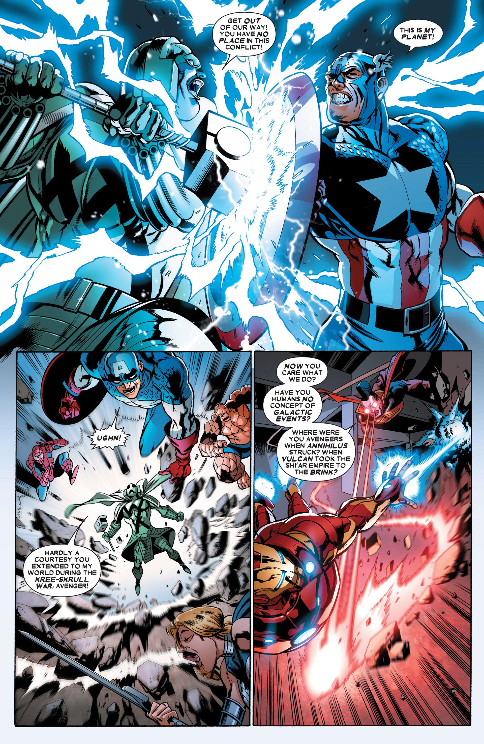 Read online Annihilators: Earthfall comic -  Issue #2 - 8