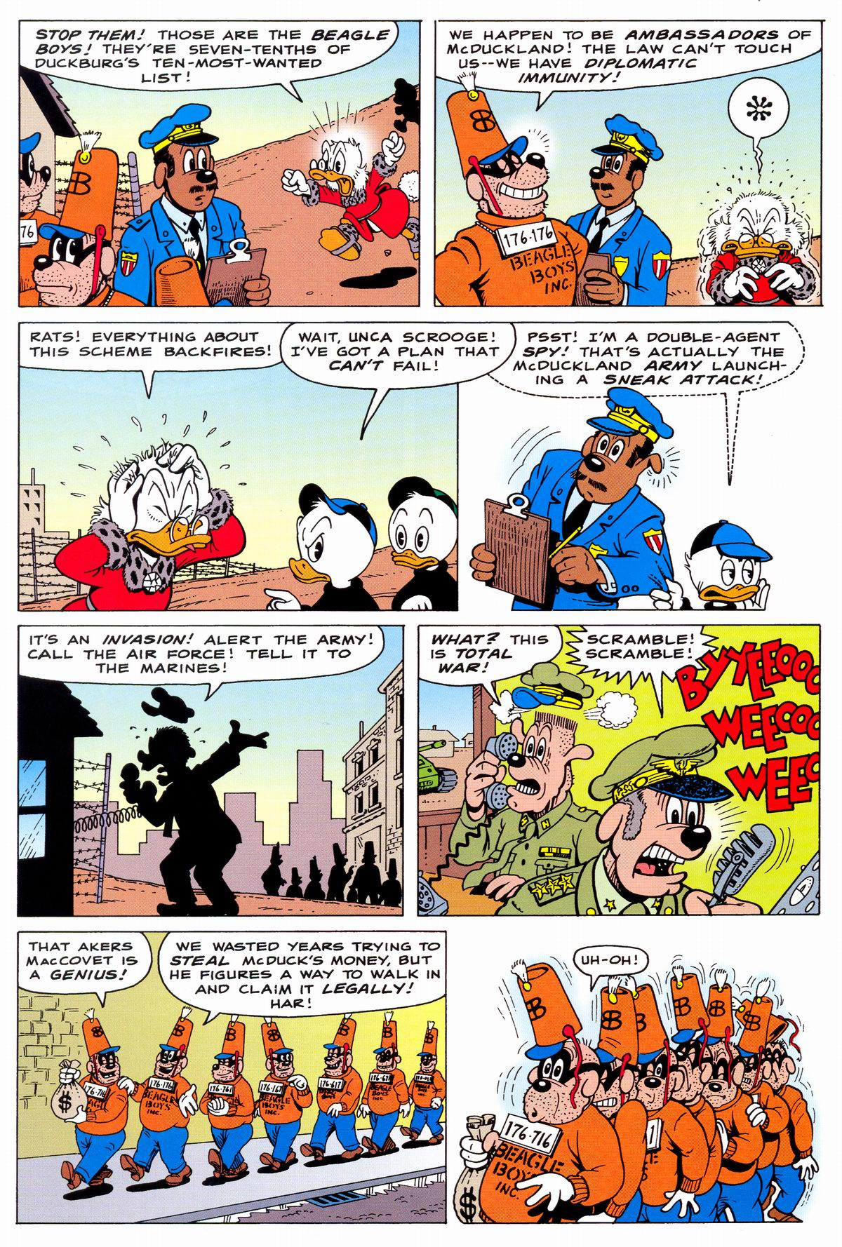 Read online Uncle Scrooge (1953) comic -  Issue #331 - 24