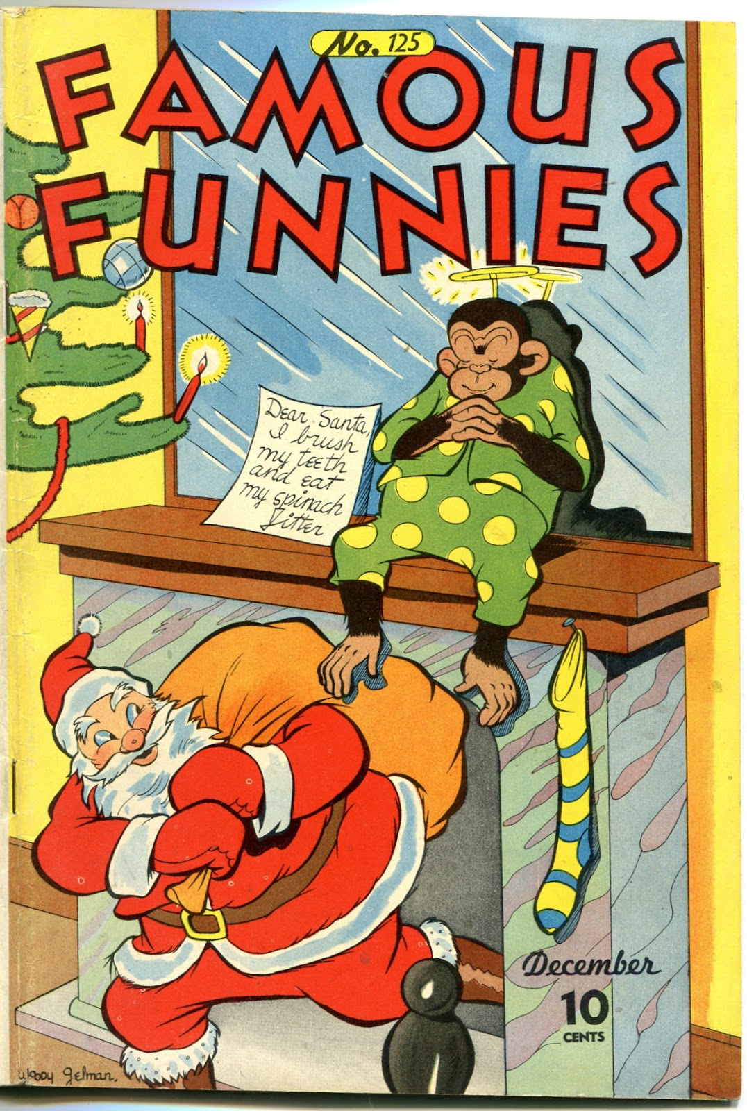 Read online Famous Funnies comic -  Issue #125 - 1