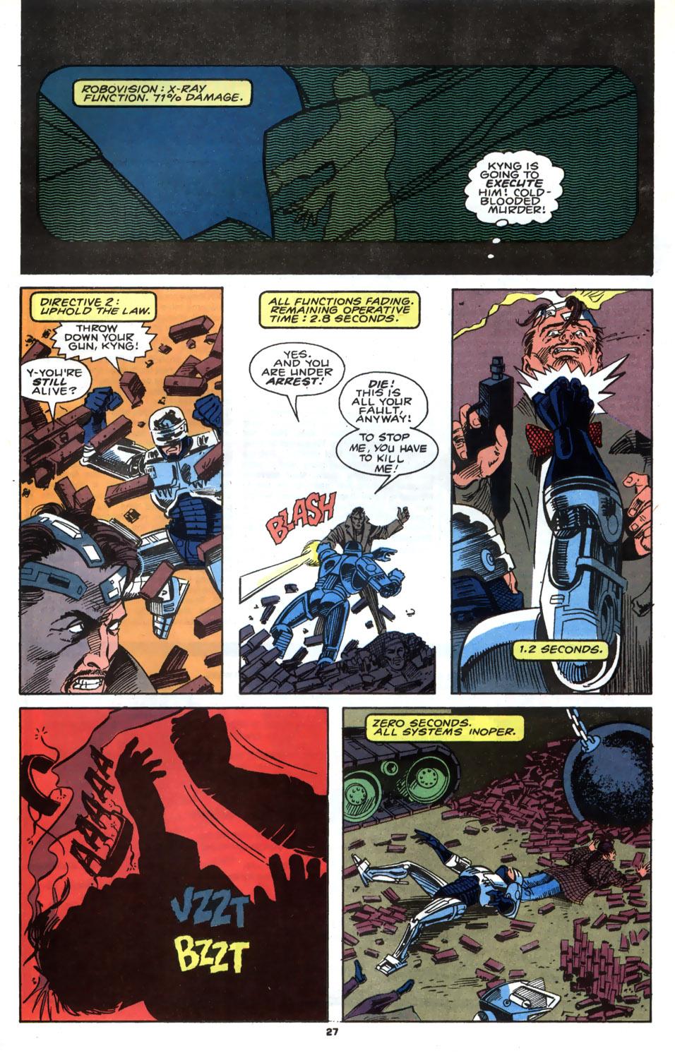 Read online Robocop (1990) comic -  Issue #4 - 22