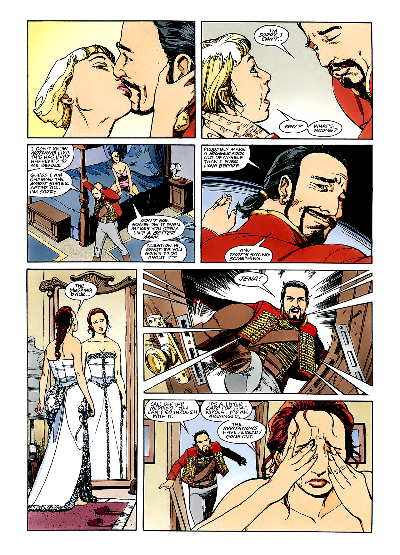 Read online Nikolai Dante comic -  Issue # TPB 3 - 71