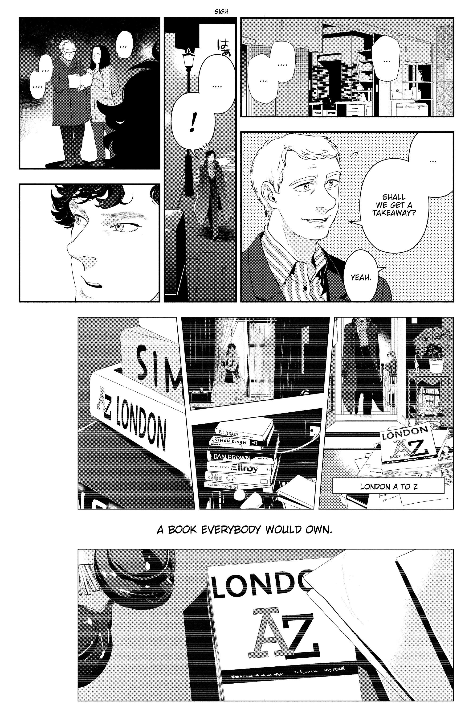 Read online Sherlock: The Blind Banker comic -  Issue #5 - 34