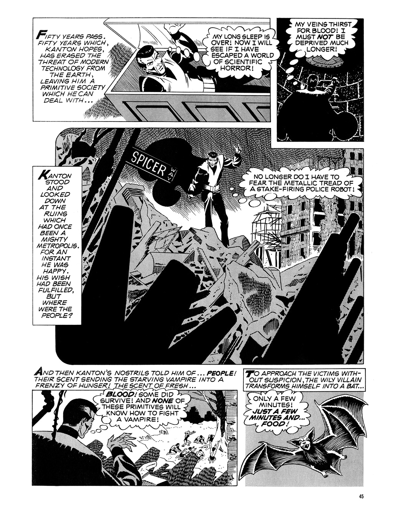 Read online Eerie Archives comic -  Issue # TPB 5 - 46