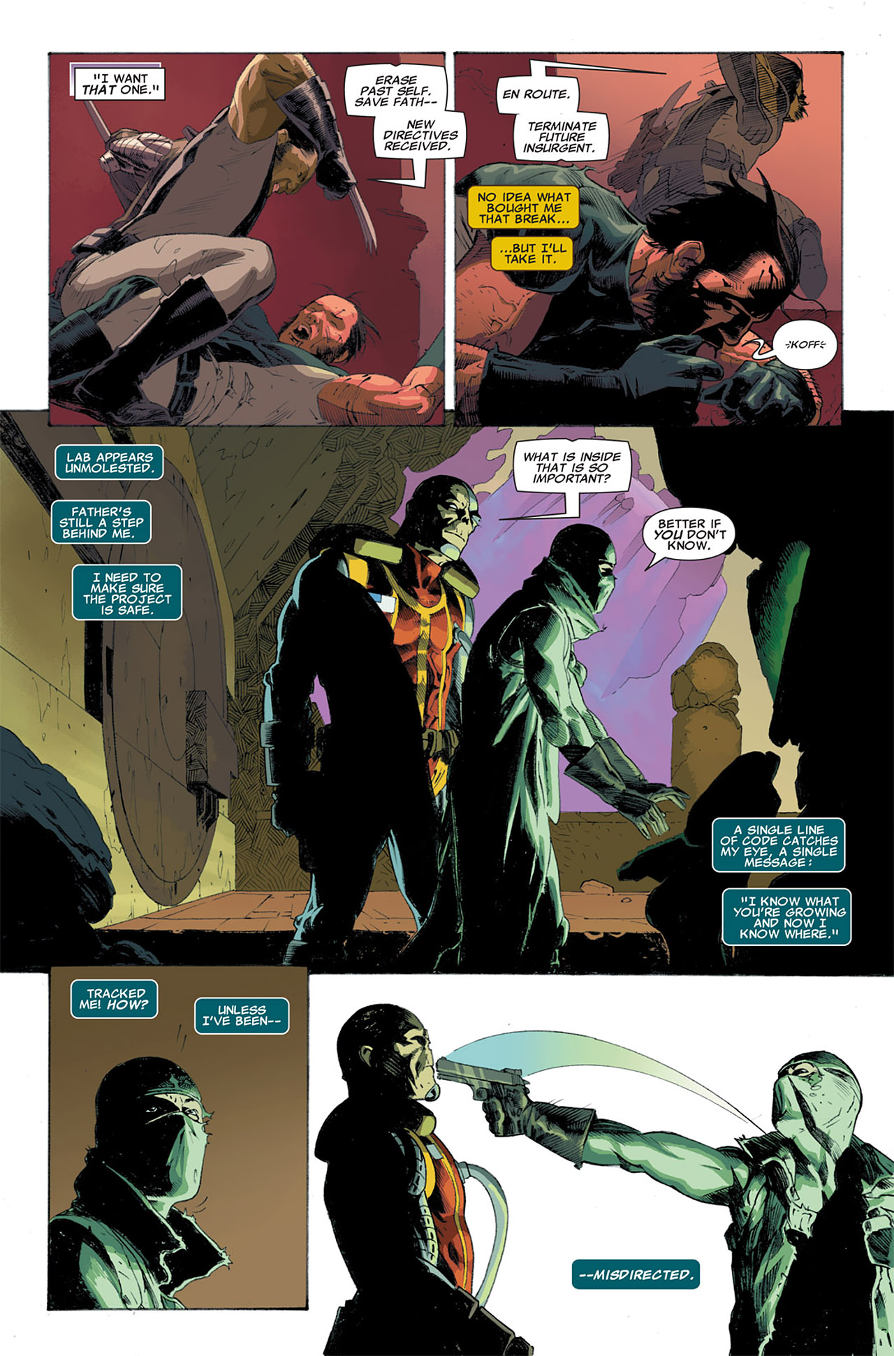 Read online Uncanny X-Force (2010) comic -  Issue #7 - 14
