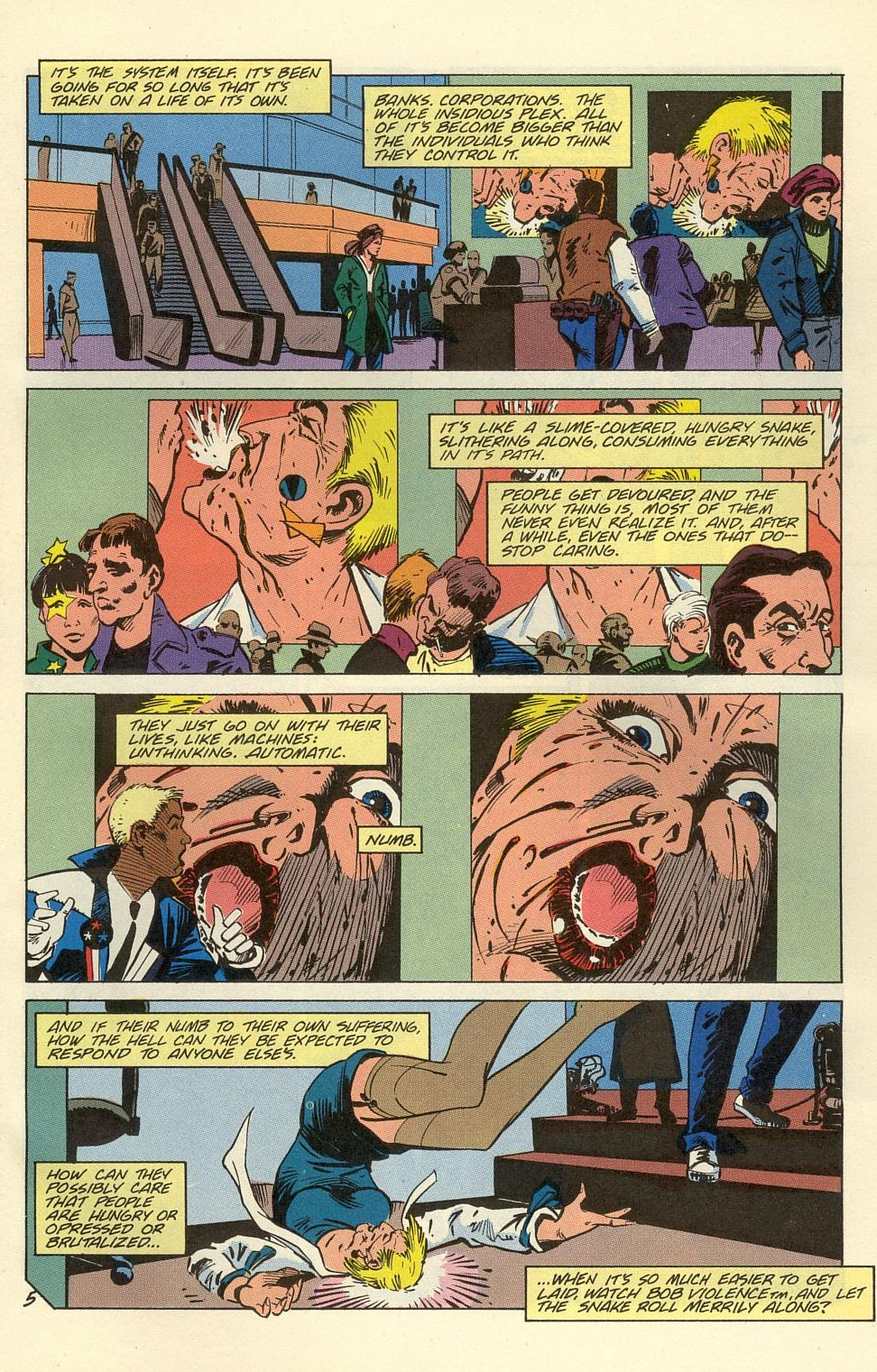 Read online American Flagg! comic -  Issue #39 - 7