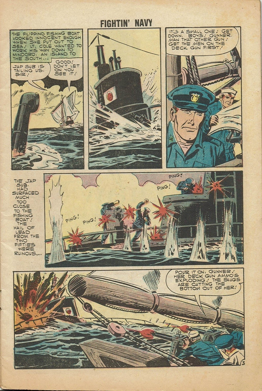 Read online Fightin' Navy comic -  Issue #81 - 5