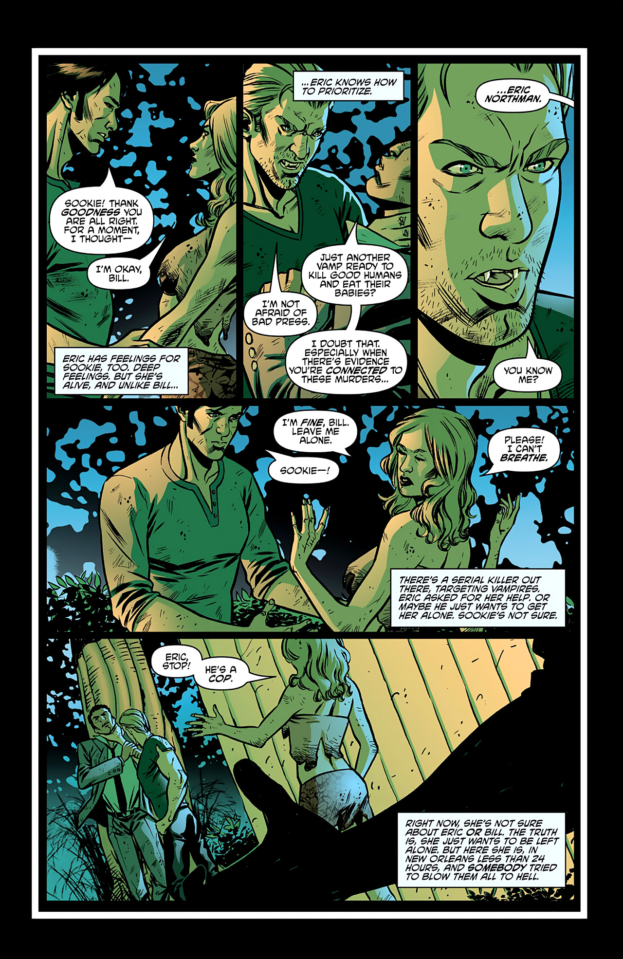 Read online True Blood: French Quarter comic -  Issue #2 - 5