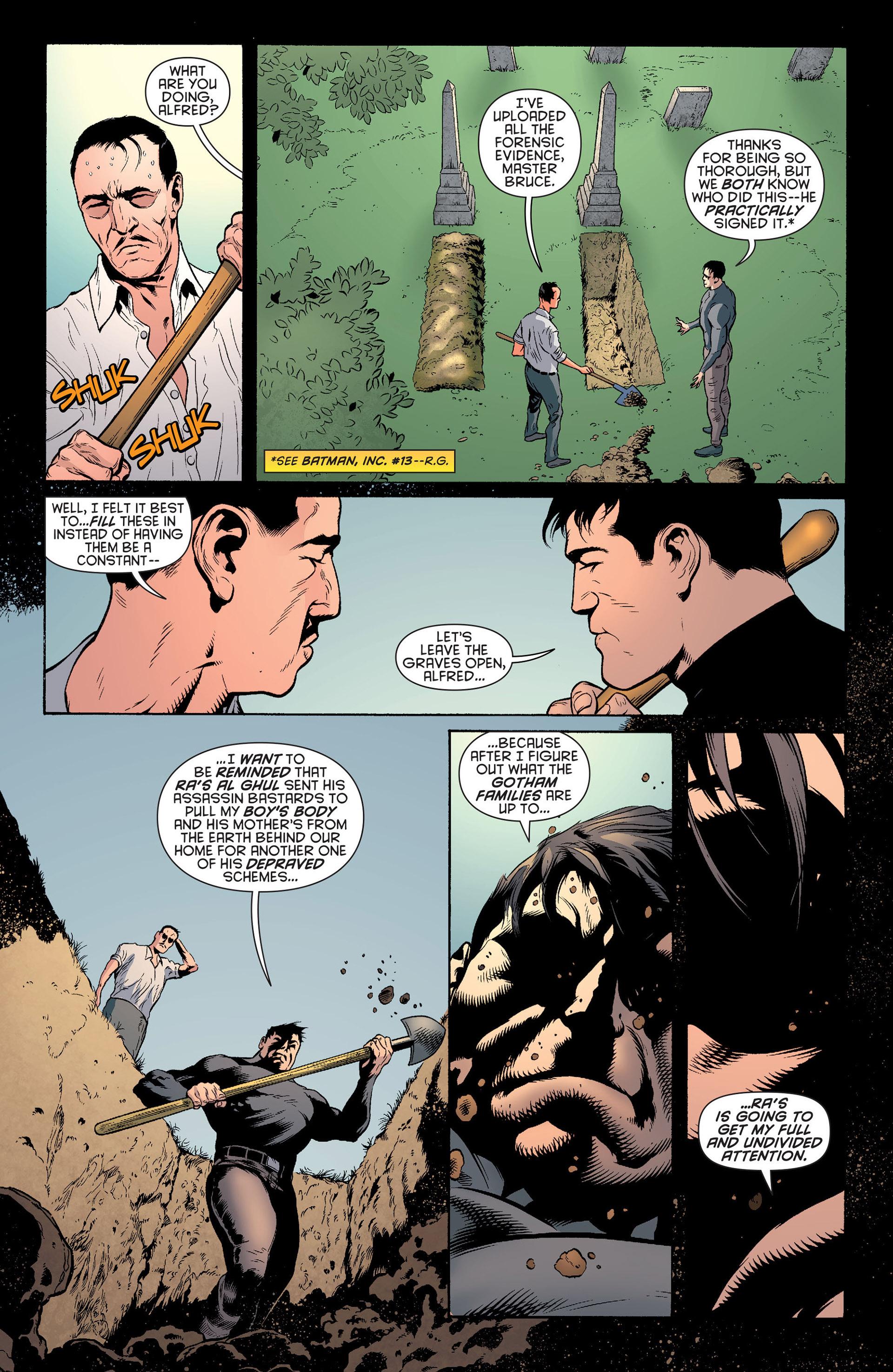 Read online Batman and Robin (2011) comic -  Issue #24 - Batman and Two-Face - 8