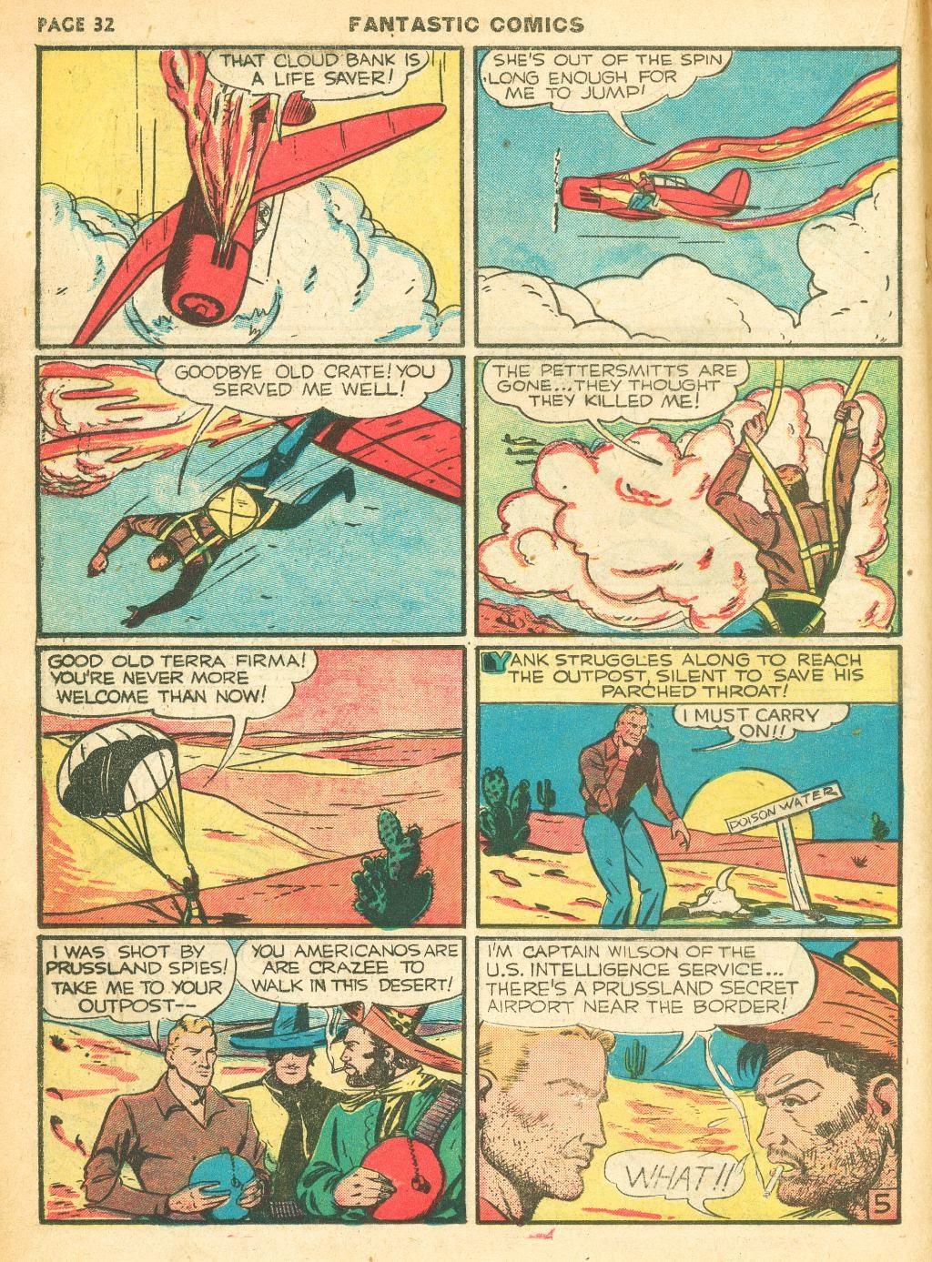 Read online Fantastic Comics comic -  Issue #12 - 34