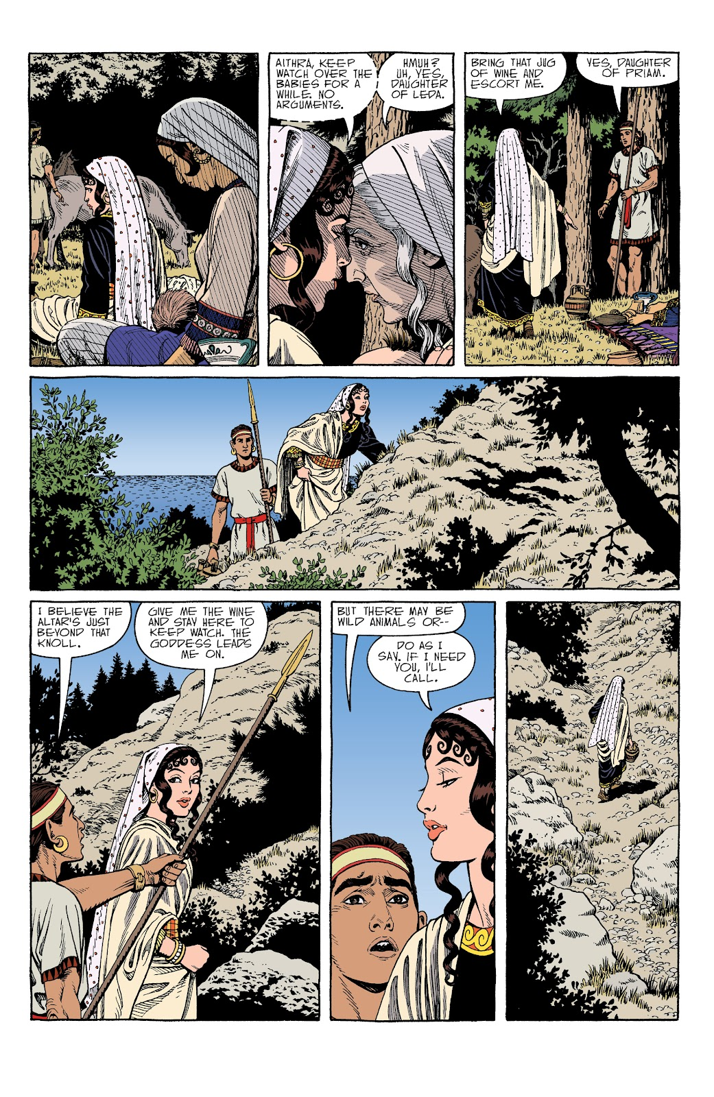 Read online Age of Bronze comic -  Issue #34 - 12