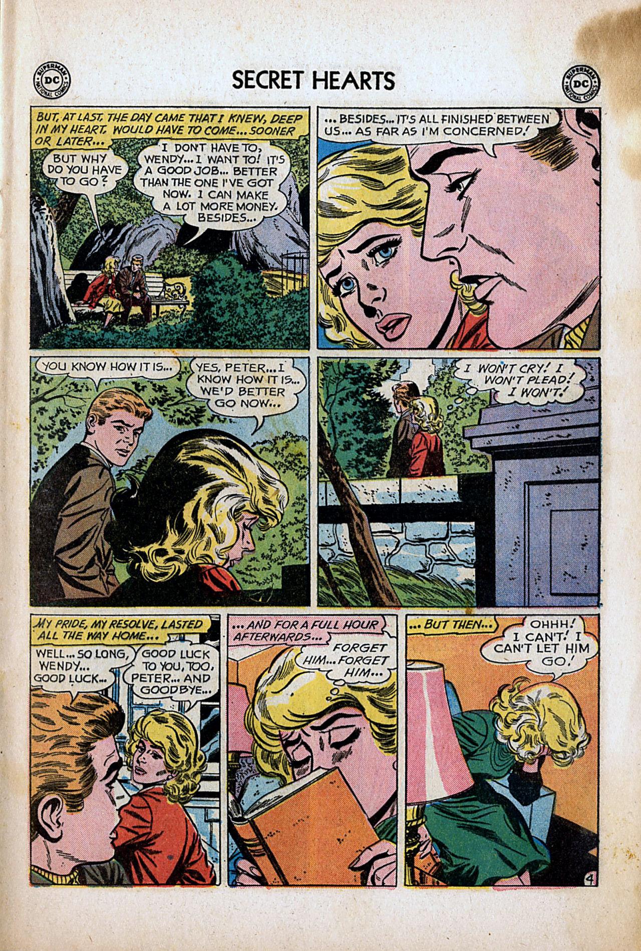 Read online Secret Hearts comic -  Issue #80 - 13