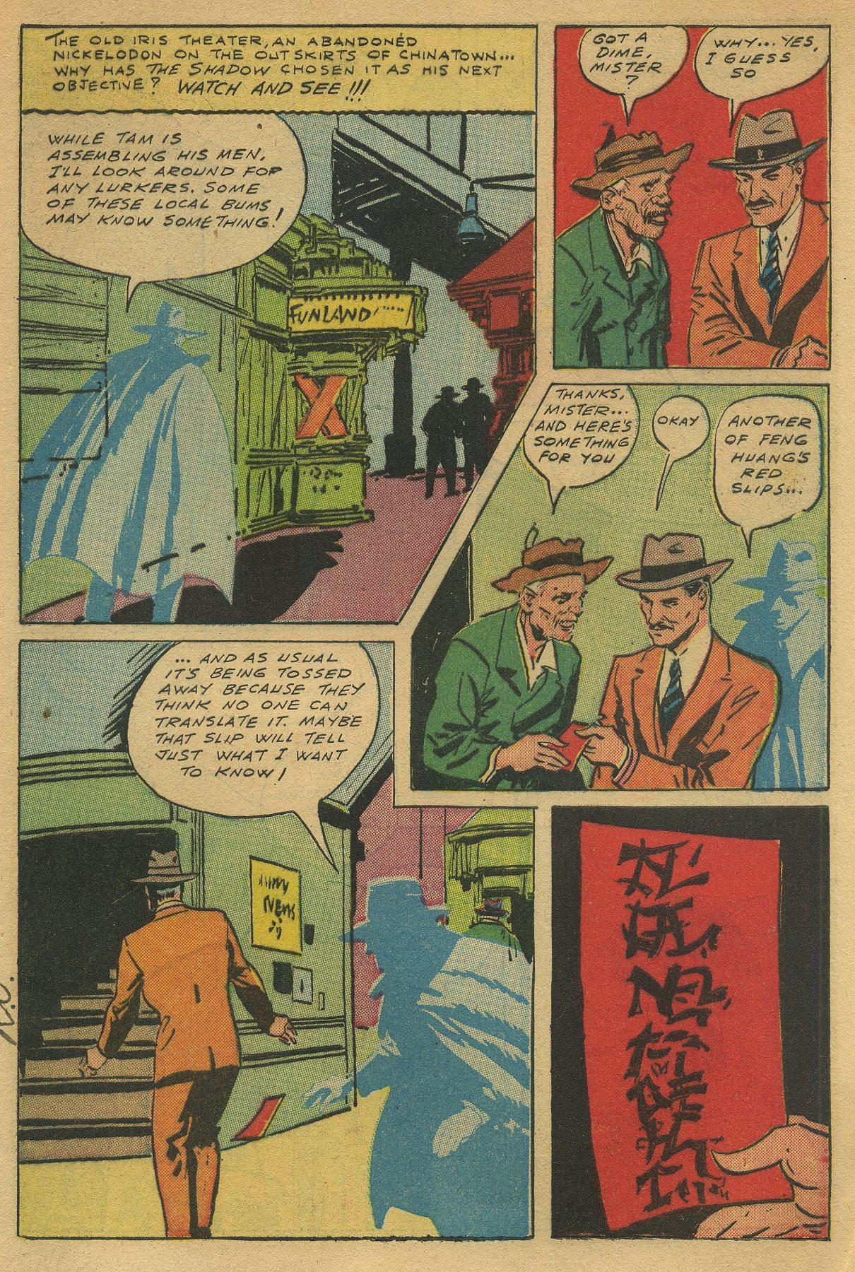 Read online Shadow Comics comic -  Issue #49 - 9