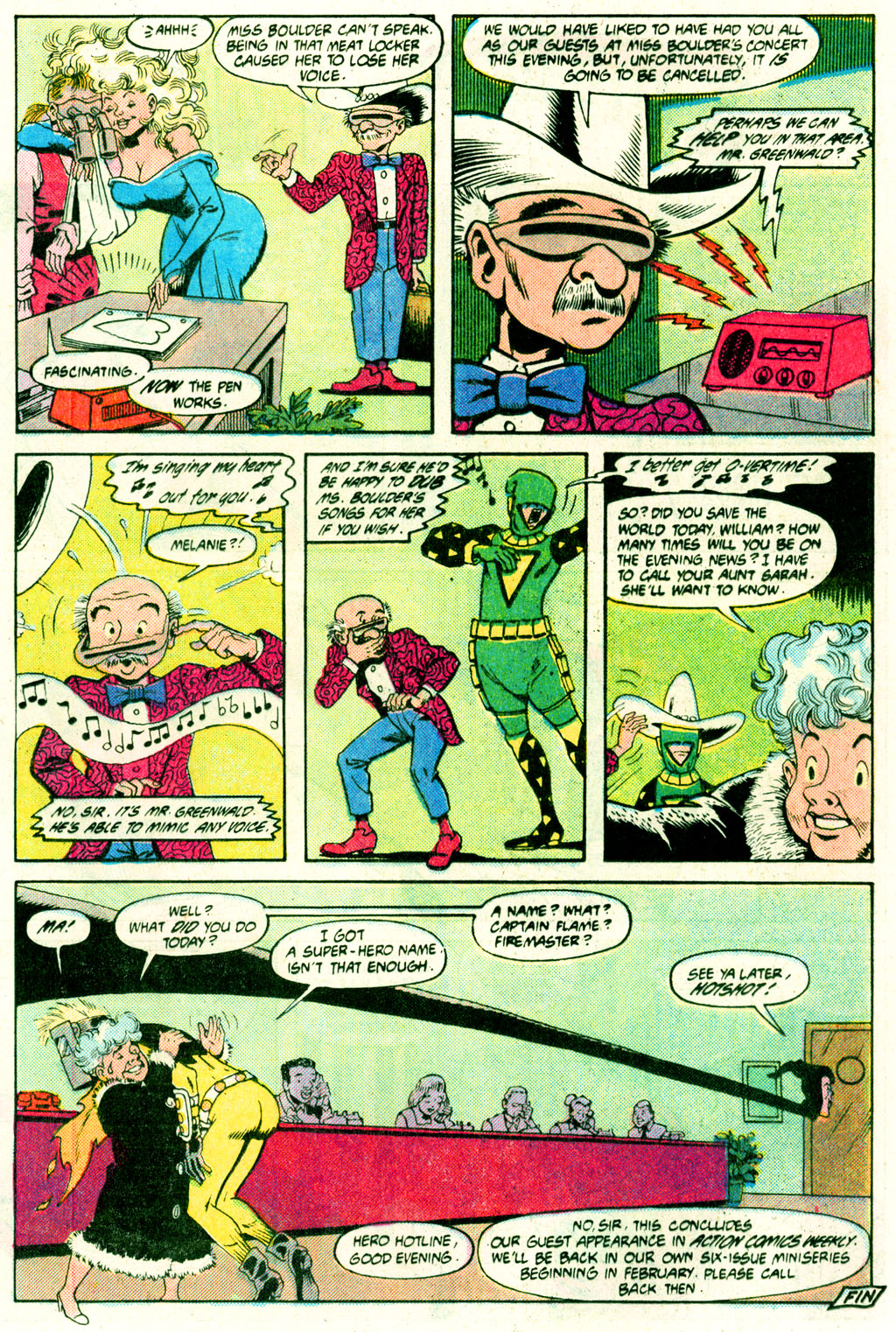 Read online Action Comics (1938) comic -  Issue #640 - 22