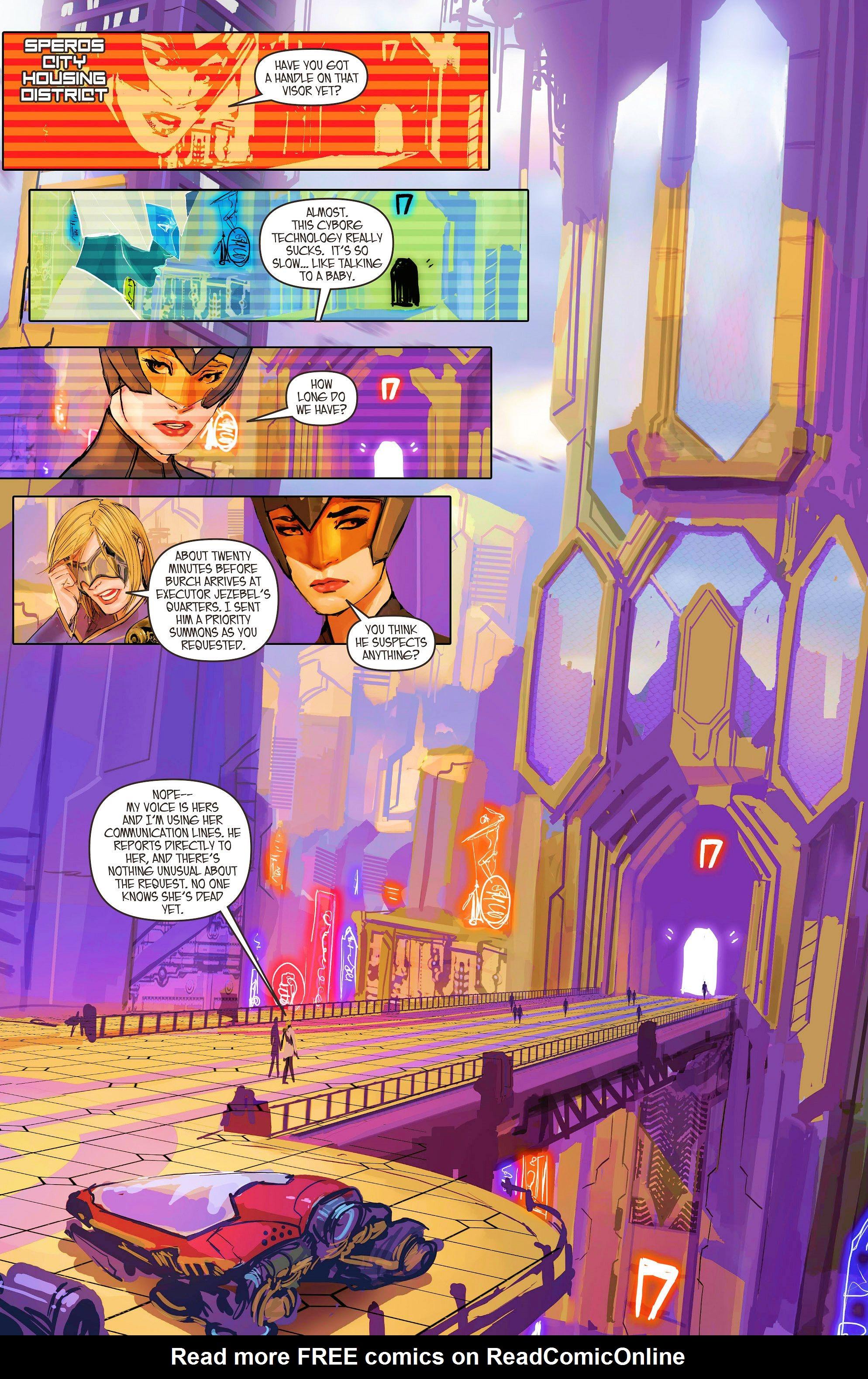 Read online Aphrodite IX (2013) comic -  Issue #9 - 4