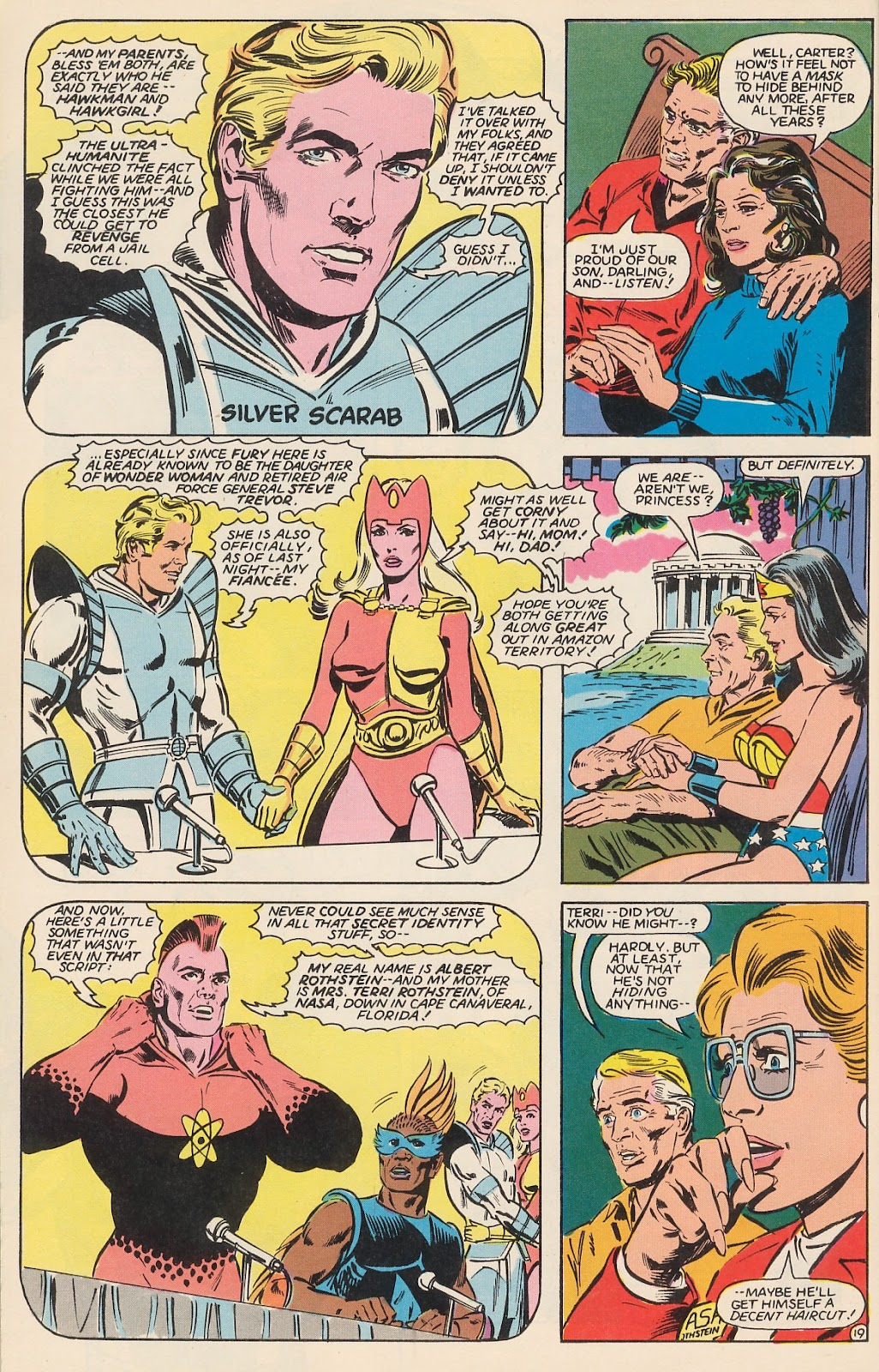 Infinity Inc. (1984) issue 12 - Page 25