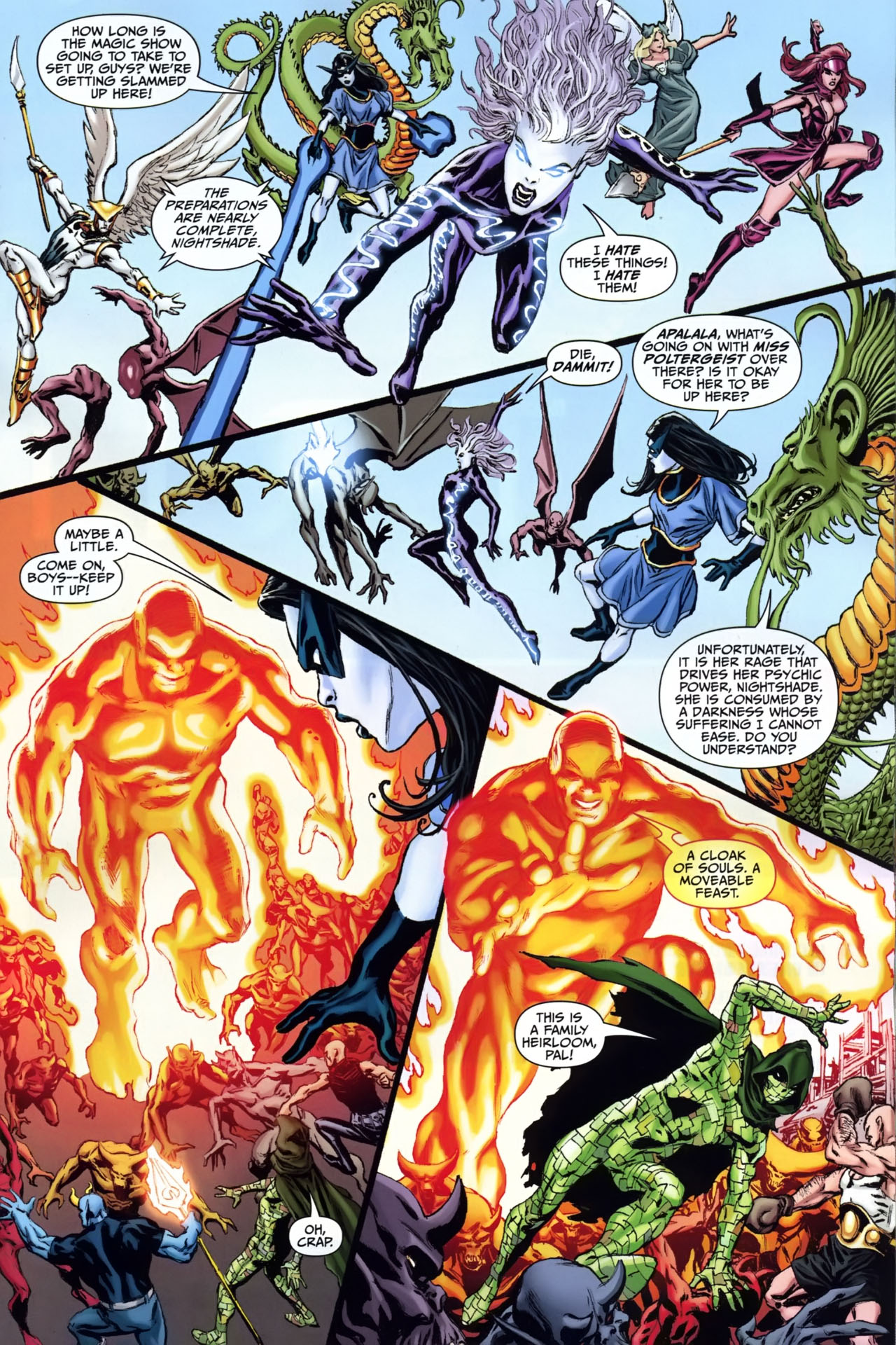 Read online Shadowpact comic -  Issue #25 - 12