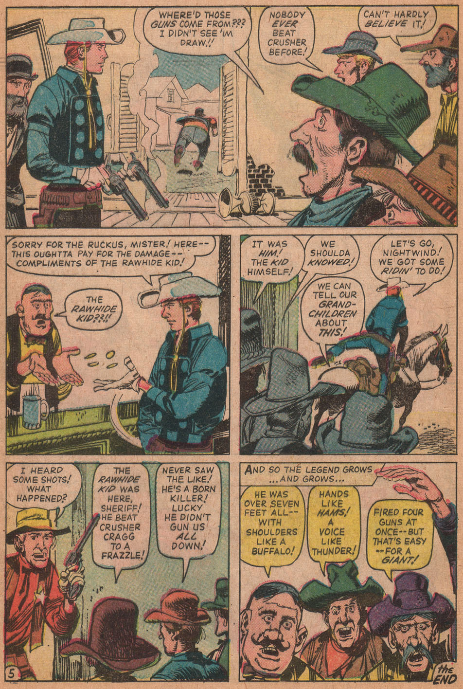 The Rawhide Kid (1955) issue 35 - Page 32