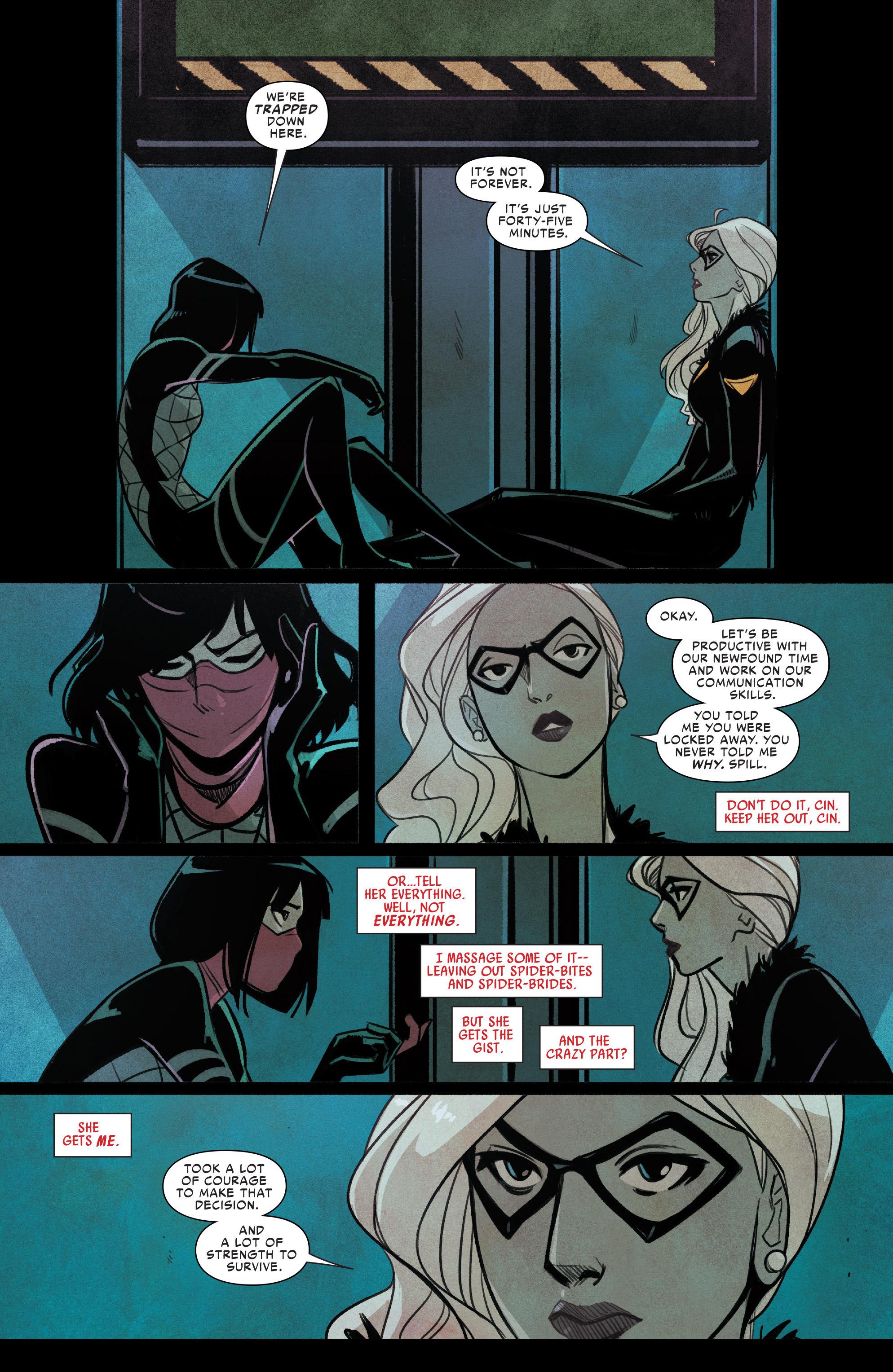 Read online Silk (2016) comic -  Issue #9 - 10