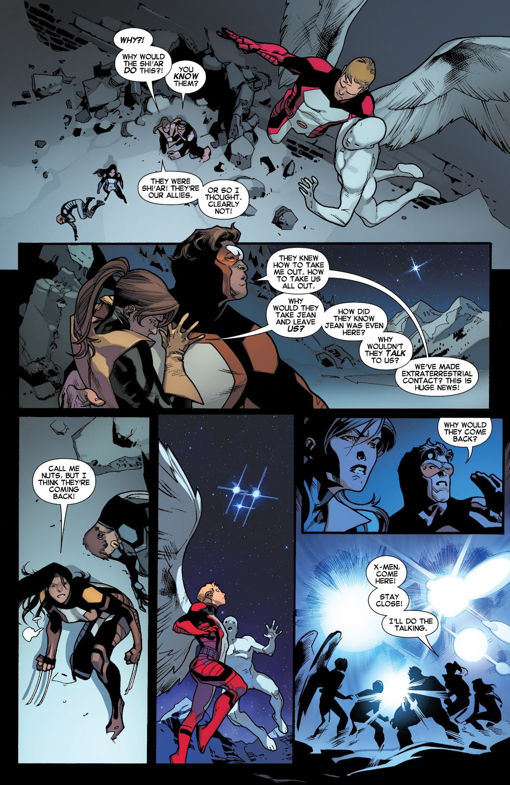 Guardians of the Galaxy/All-New X-Men: The Trial of Jean Grey issue TPB - Page 20
