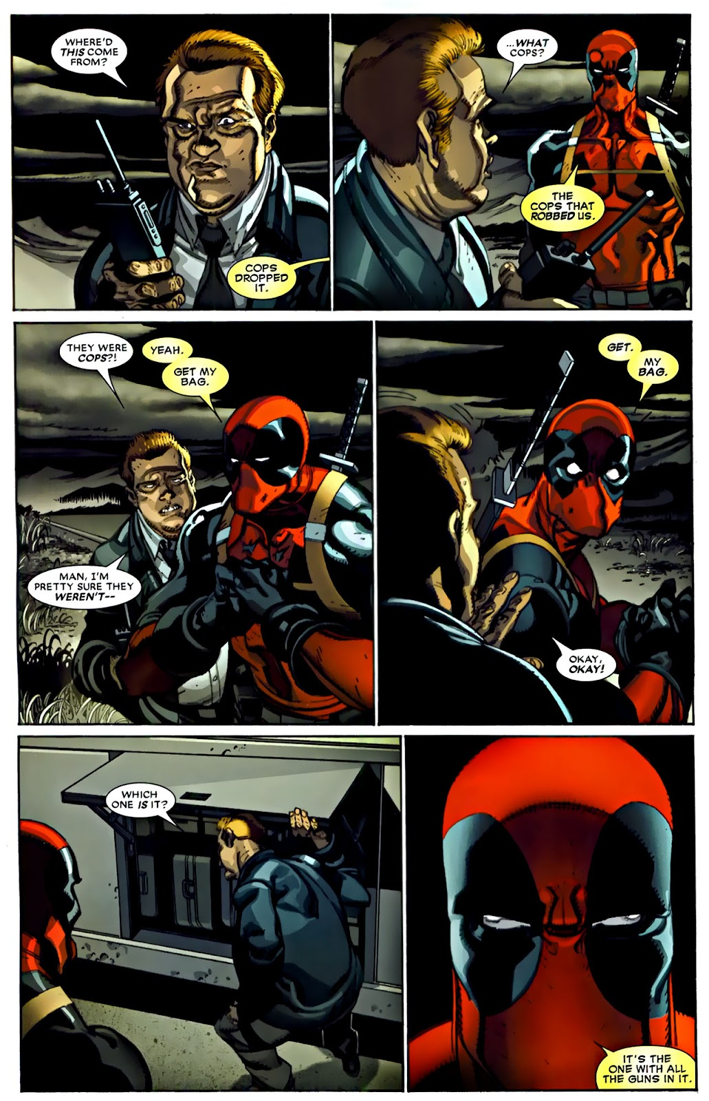 Read online Deadpool (2008) comic -  Issue #22 - 12