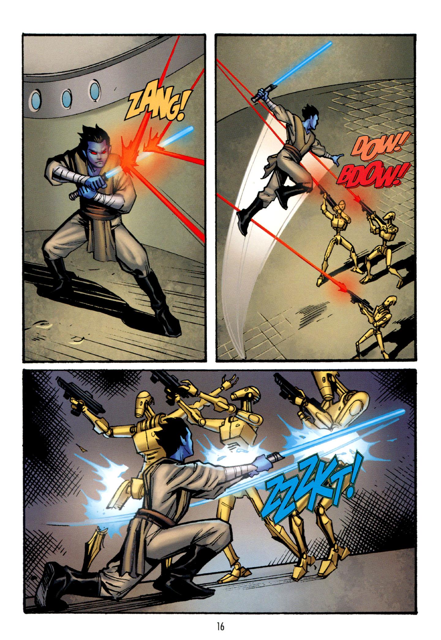 Read online Star Wars: The Clone Wars - Strange Allies comic -  Issue # Full - 17