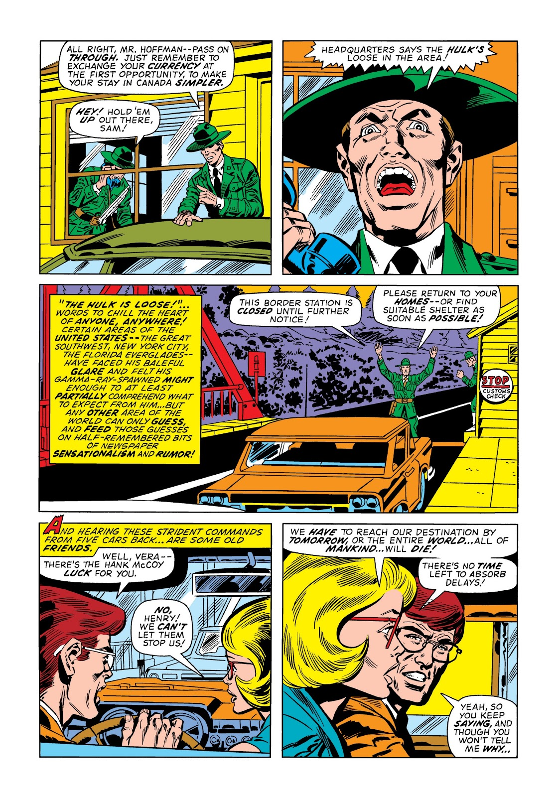 Read online Marvel Masterworks: The Incredible Hulk comic -  Issue # TPB 9 (Part 1) - 98
