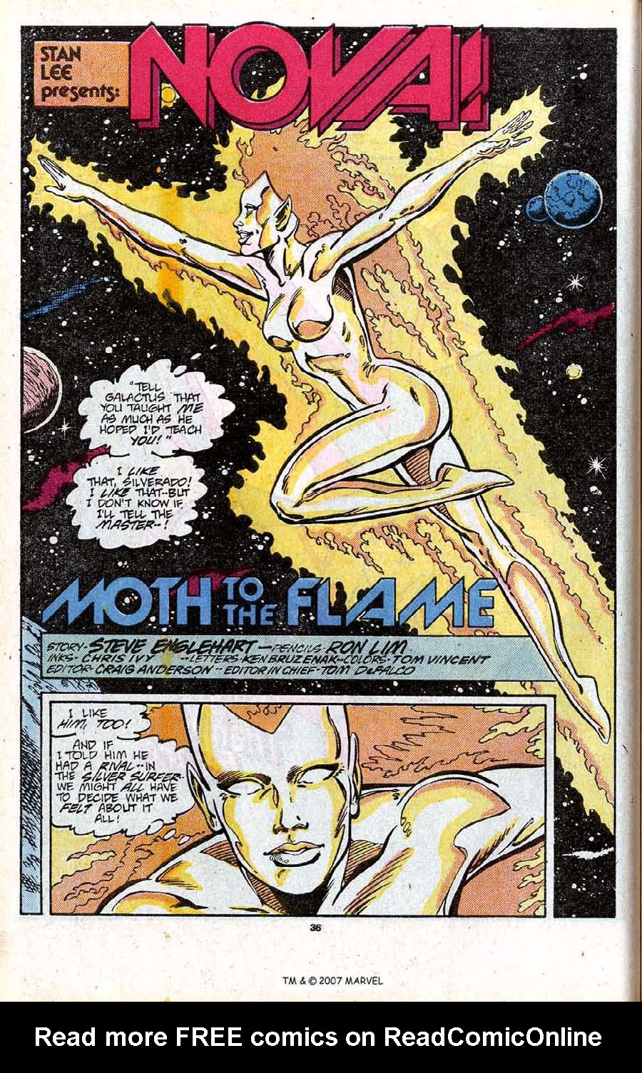 Read online Silver Surfer (1987) comic -  Issue # _Annual 1 - 38