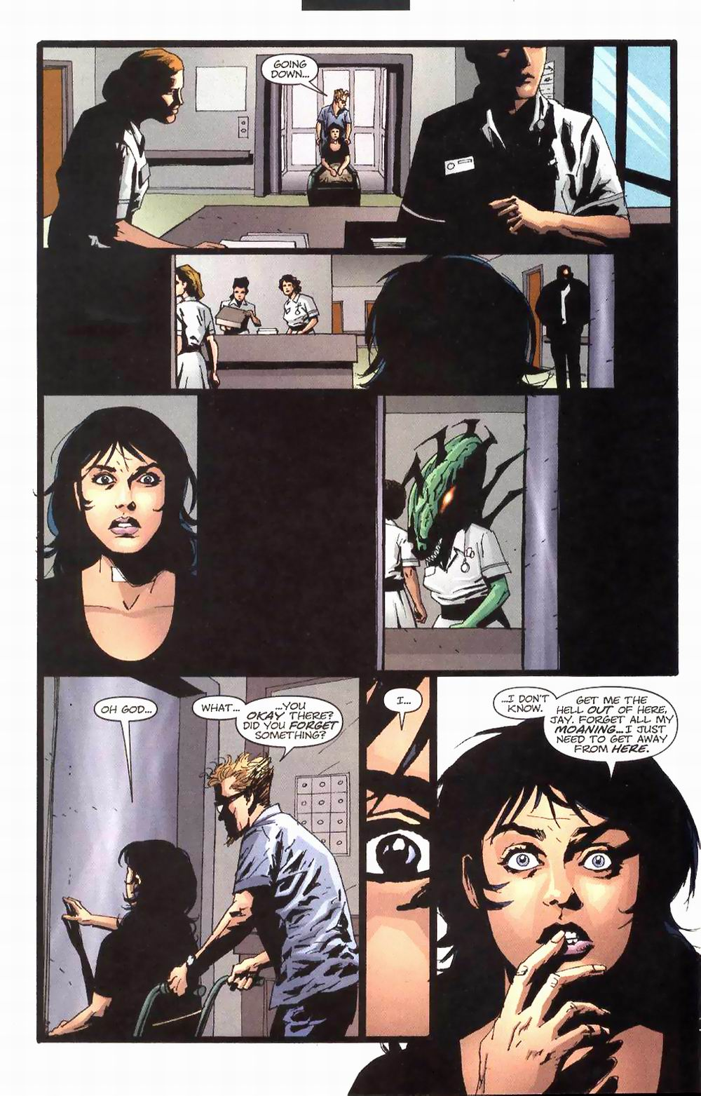 Wildcats (1999) Issue #24 #25 - English 10
