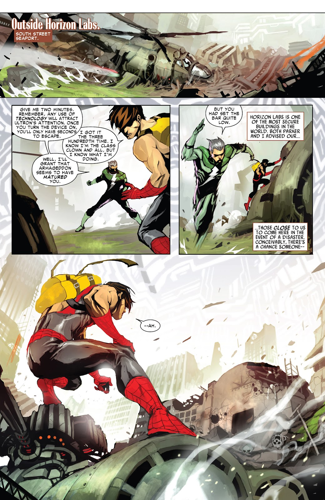 Read online Age of Ultron Companion comic -  Issue # TPB (Part 1) - 76