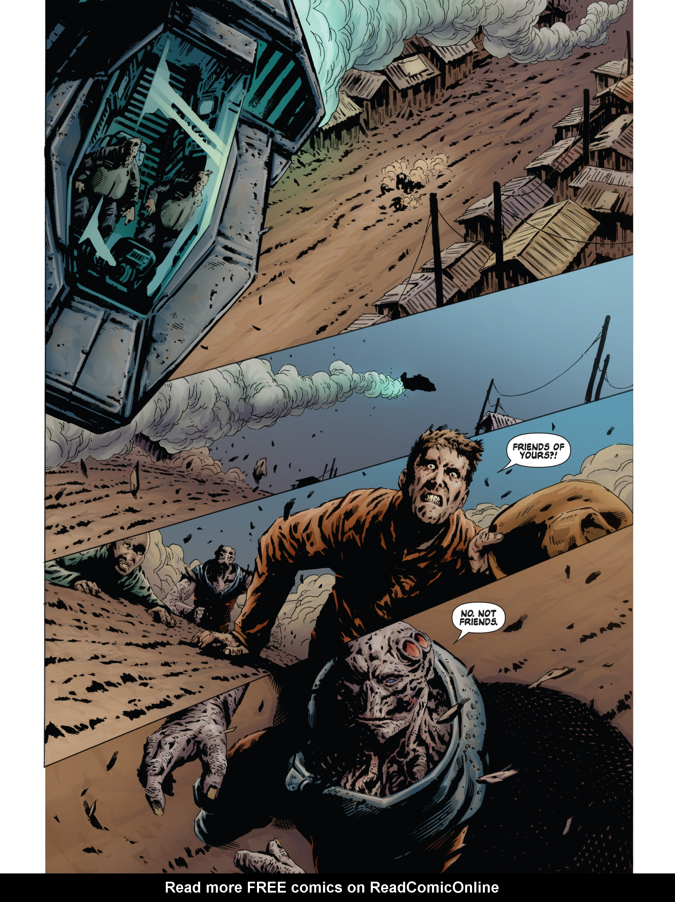 Read online Bad Planet comic -  Issue # TPB - 115