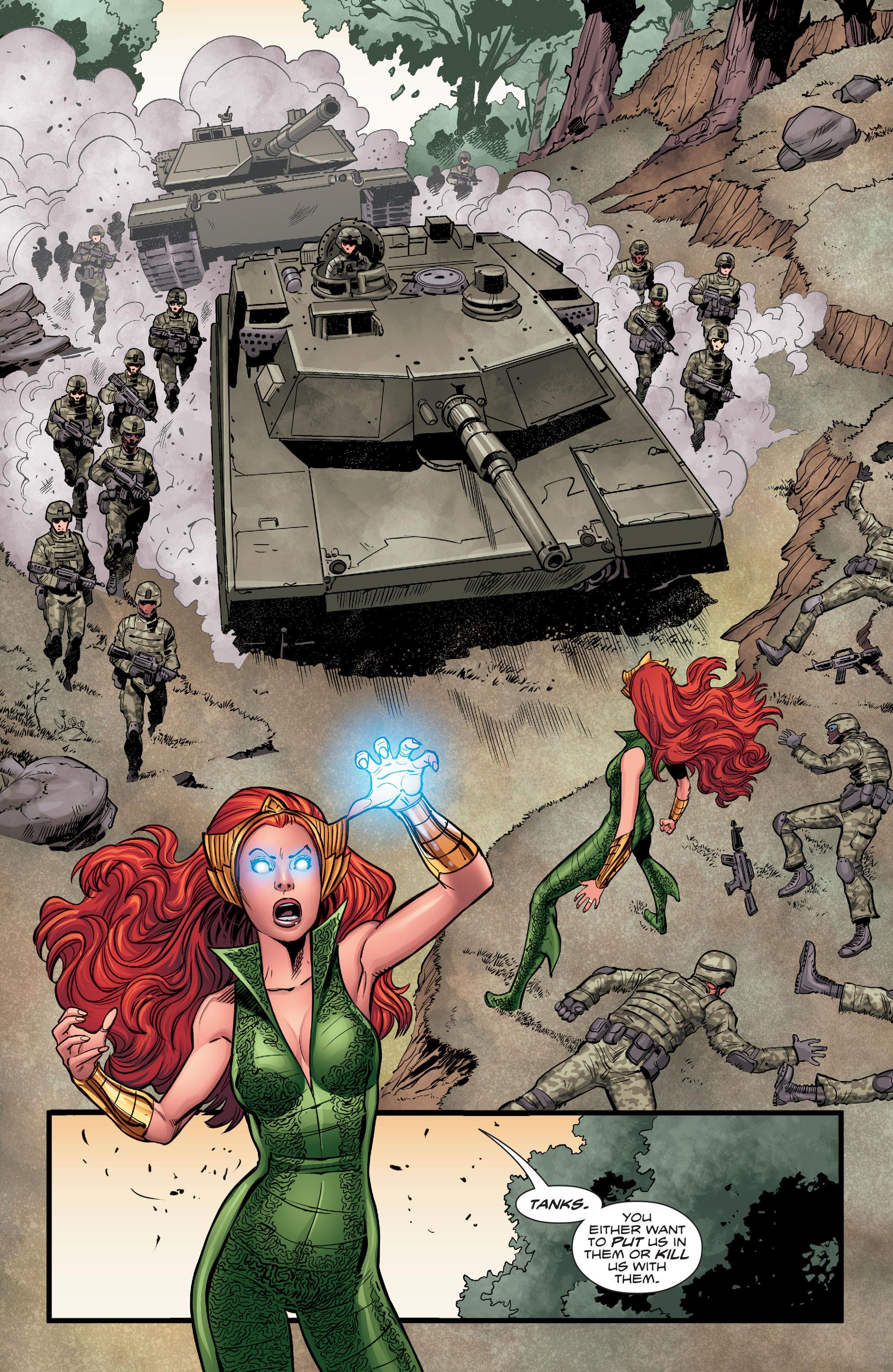 Read online Aquaman (2016) comic -  Issue #5 - 14