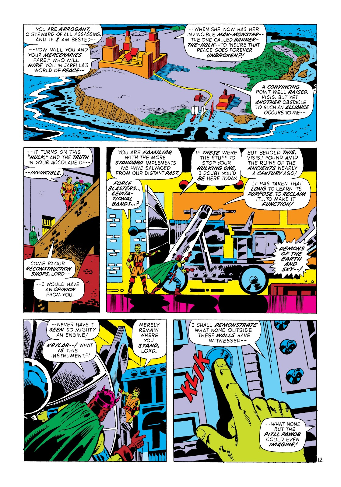 Read online Marvel Masterworks: The Incredible Hulk comic -  Issue # TPB 8 (Part 3) - 73