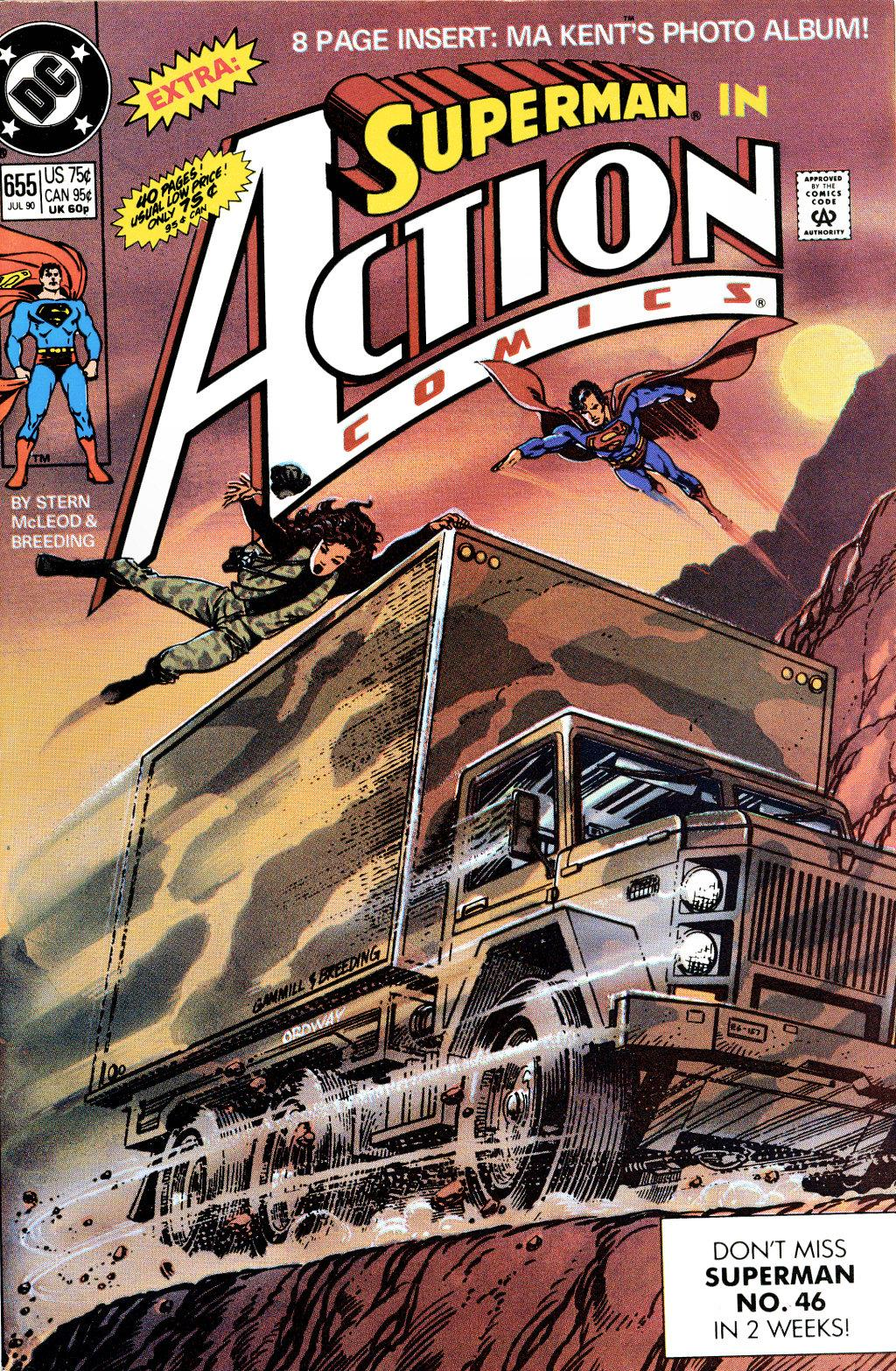 Read online Action Comics (1938) comic -  Issue #655 - 1