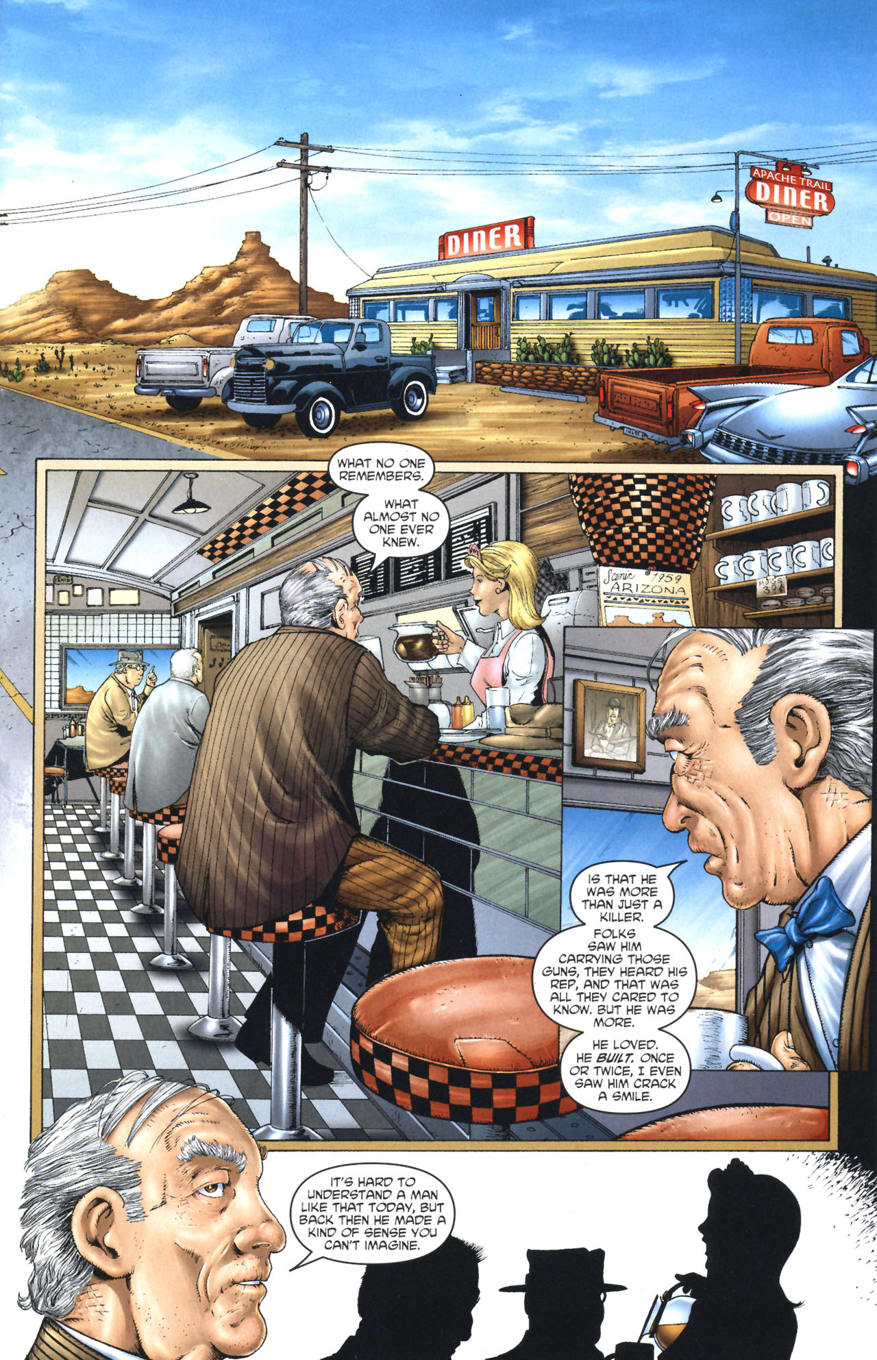 Read online Garth Ennis' Streets of Glory comic -  Issue #1 - 4