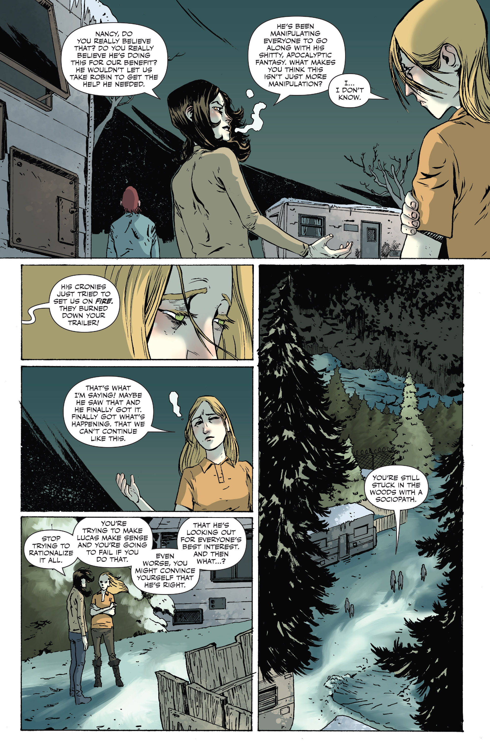 Read online Sheltered comic -  Issue #10 - 10