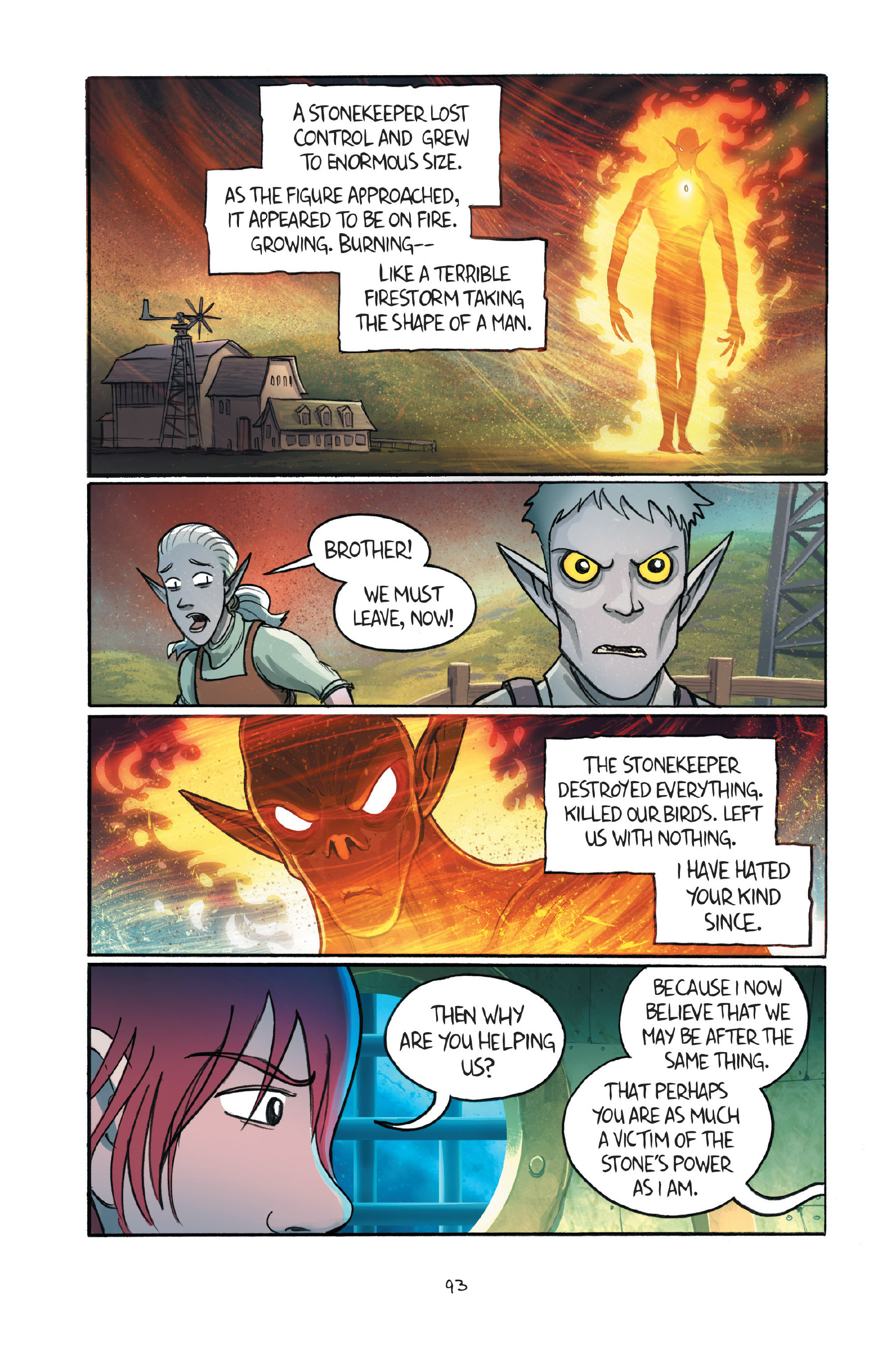 Read online Amulet comic -  Issue #7 - 94