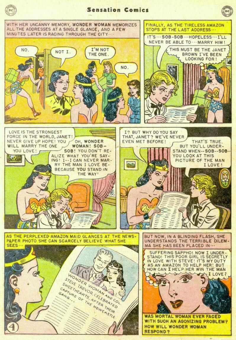Read online Sensation (Mystery) Comics comic -  Issue #98 - 6