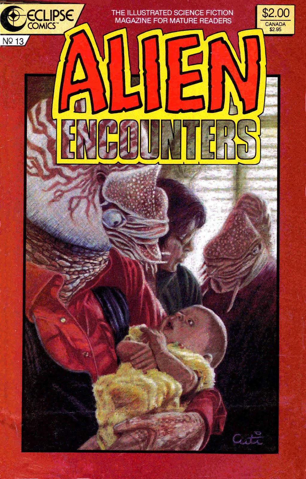 Alien Encounters 13 Page 1