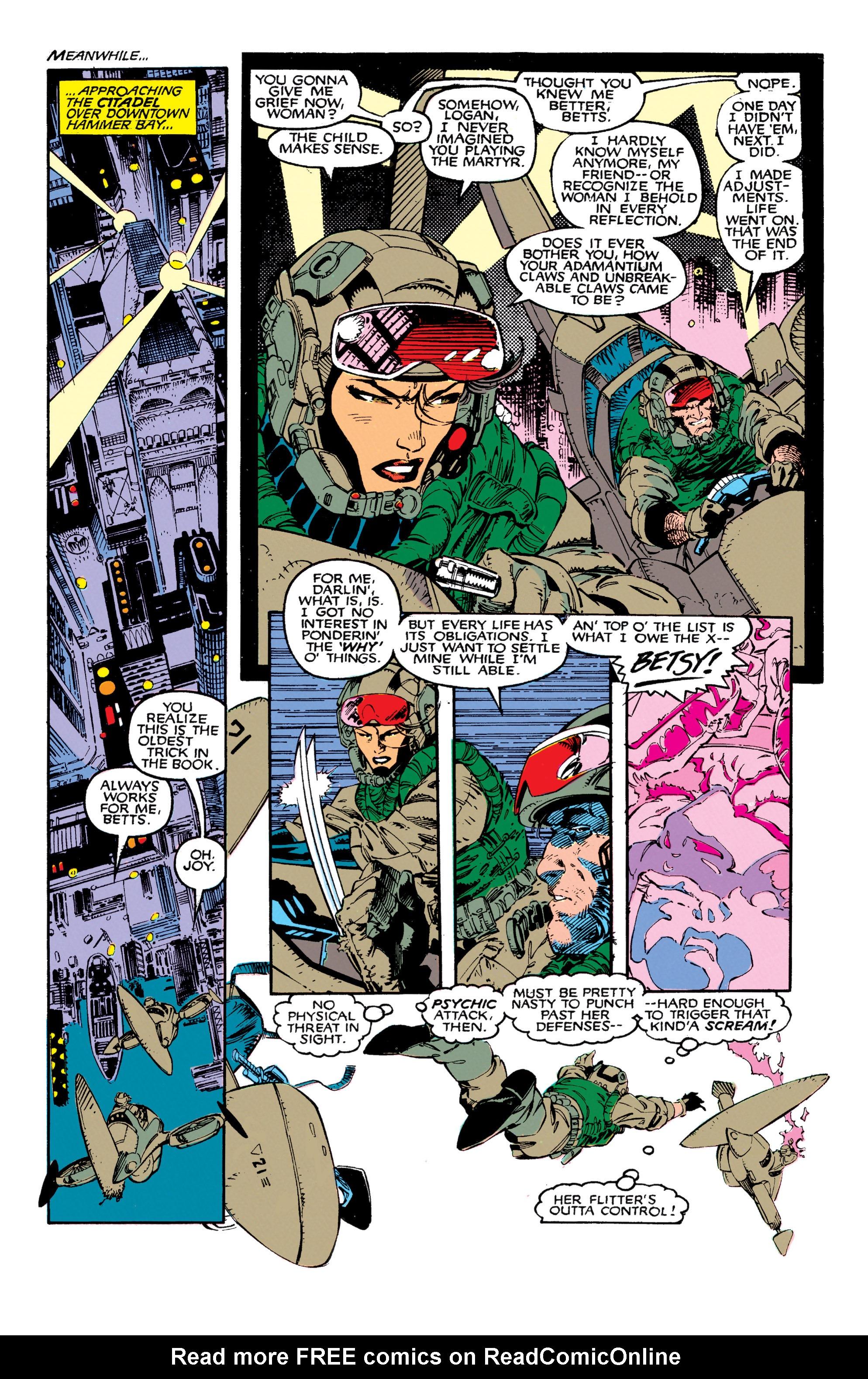 Read online Uncanny X-Men (1963) comic -  Issue #271 - 15