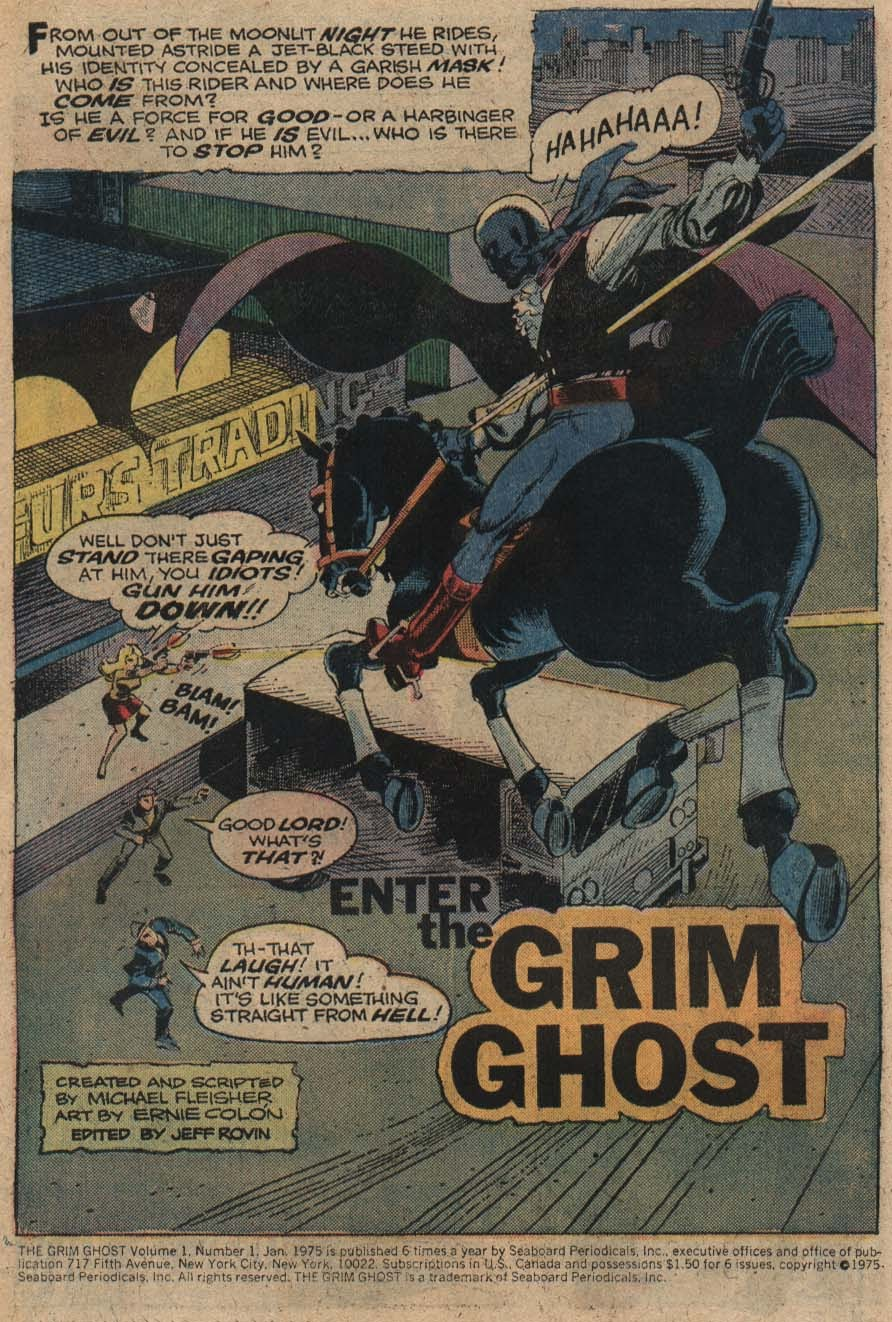 The Grim Ghost (1975) issue 1 - Page 2