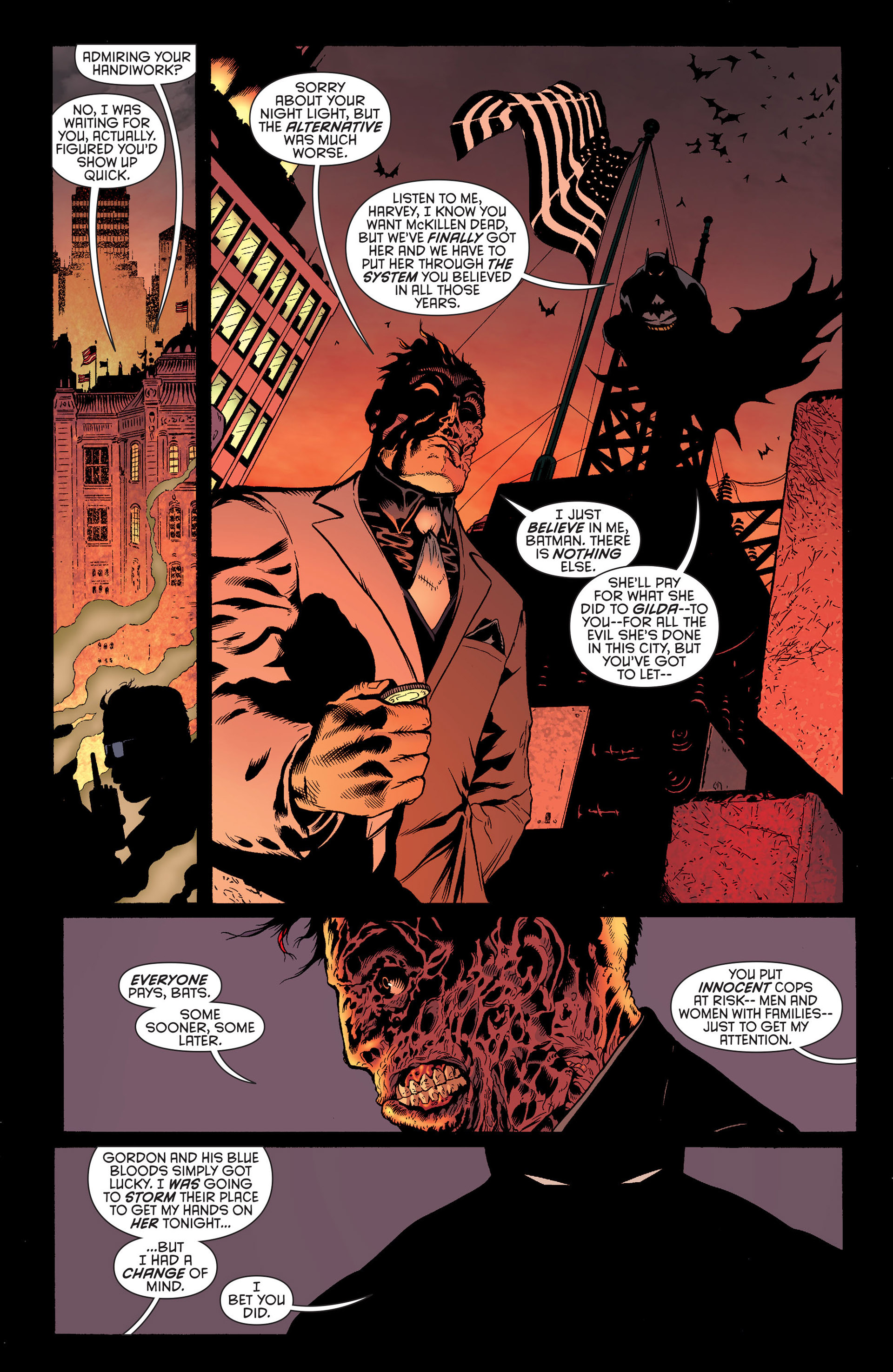 Read online Batman and Robin (2011) comic -  Issue #25 - Batman and Two-Face - 4