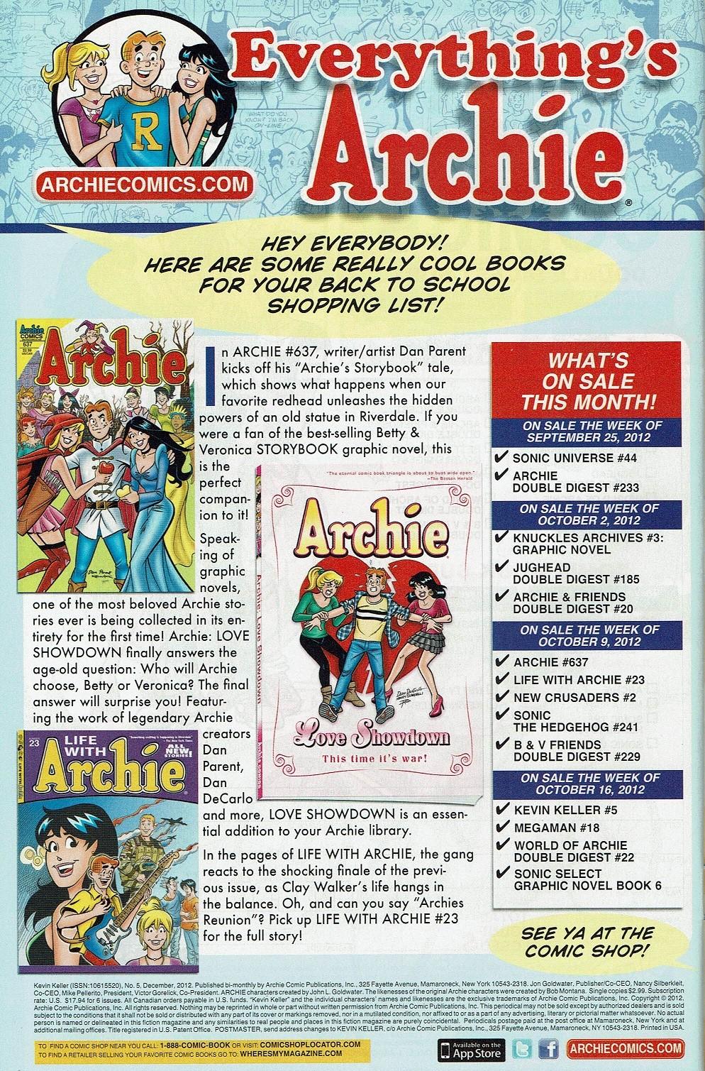Read online Kevin Keller comic -  Issue #5 - 35